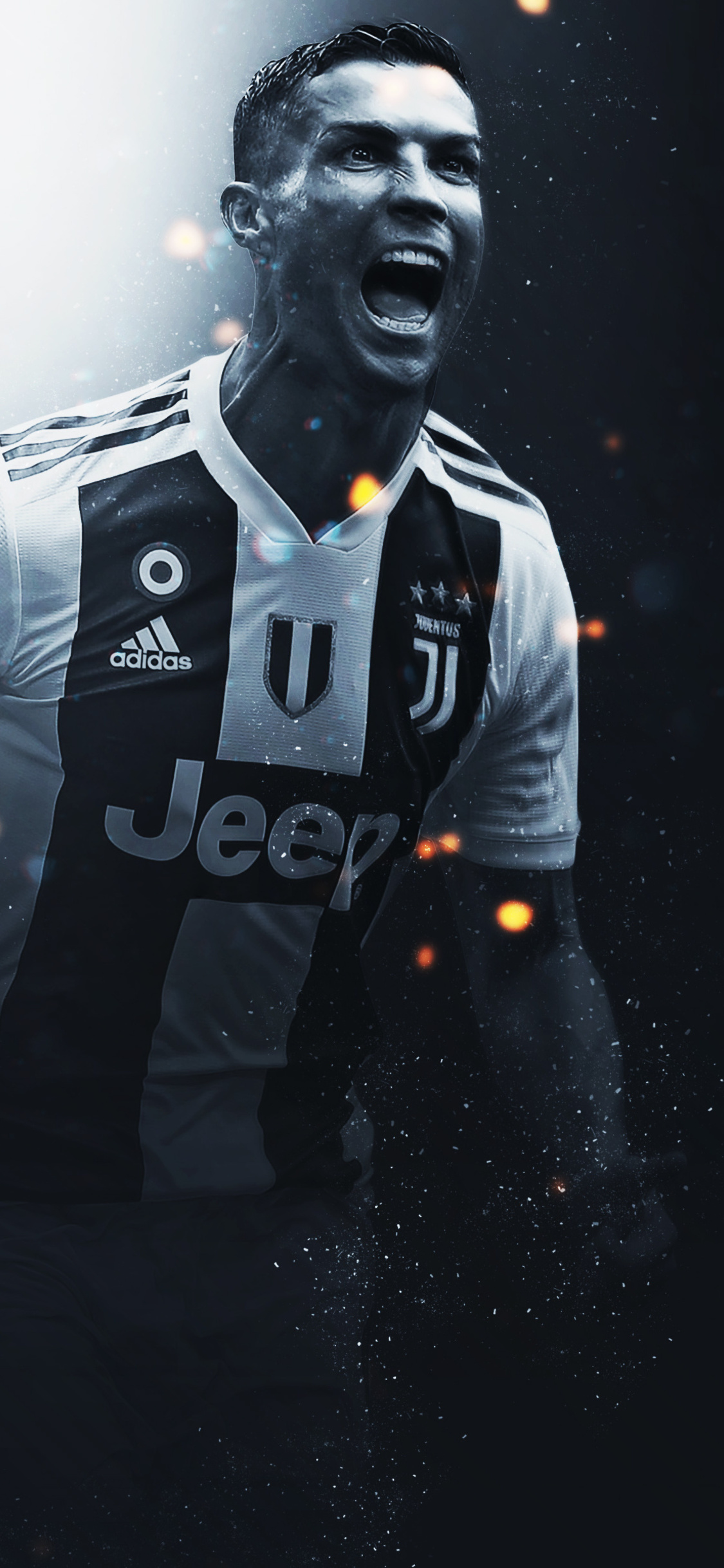 1125x2436 Cristiano Ronaldo Juventus FC Iphone XS,Iphone ...