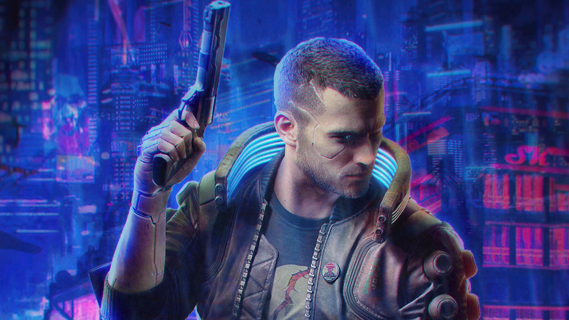 Get Cyberpunk 2077 Logo Wallpaper Gif | Link Guru