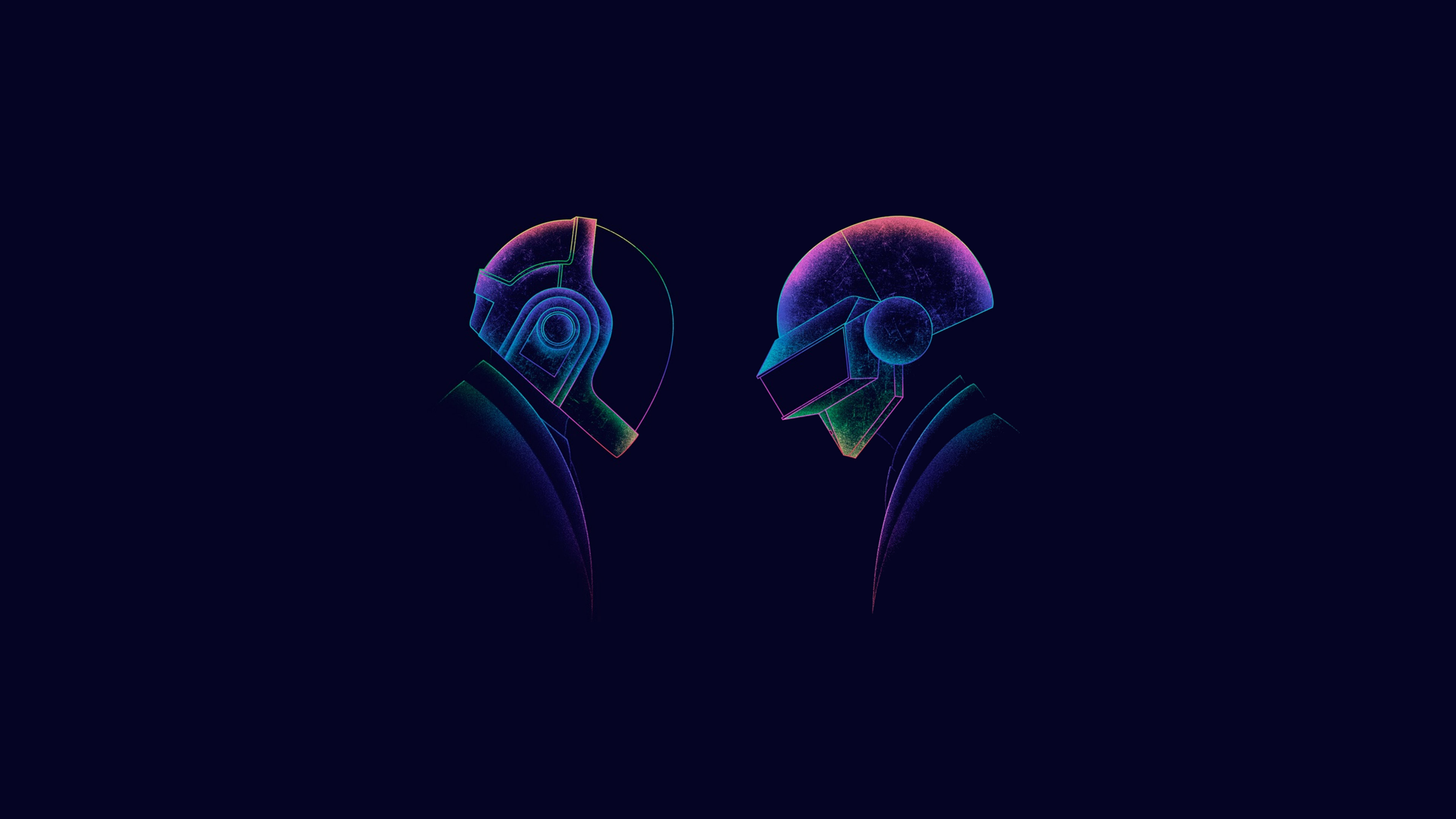 Daft Punk Minimalism 3, HD Music, 4k Wallpapers, Images ...