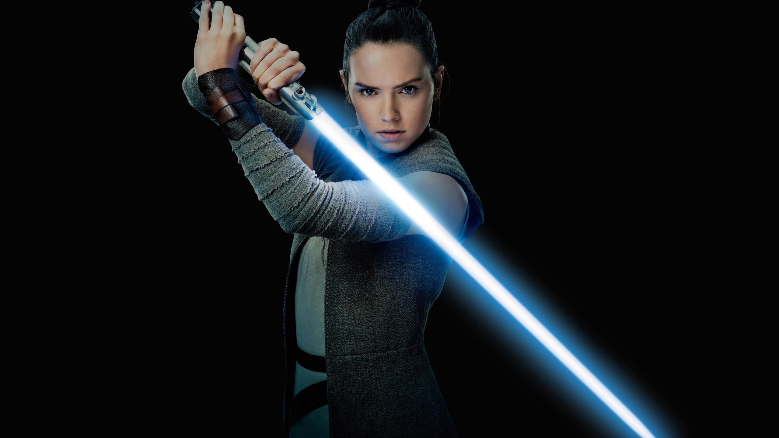 2560x1440 Daisy Ridley As Rey Star Wars In The Last Jedi