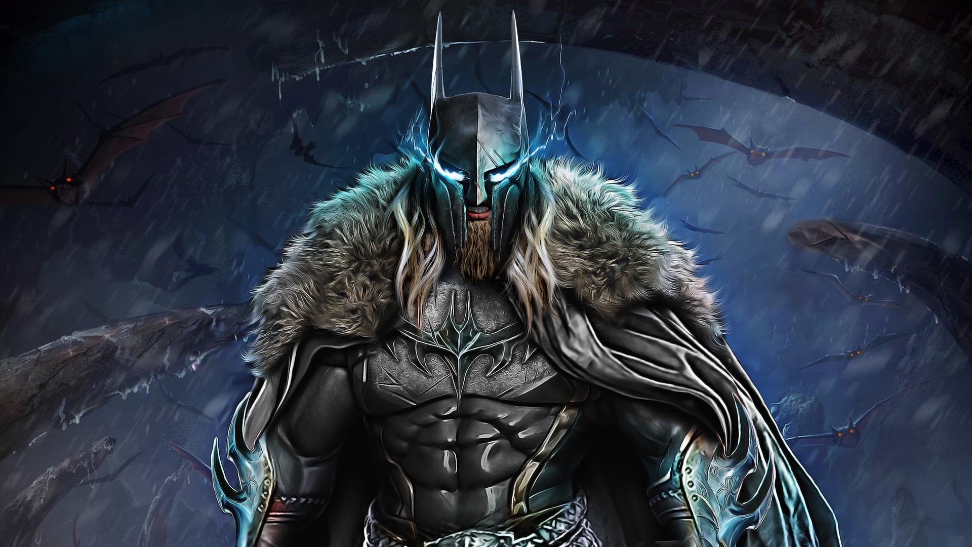 Dark Knight Warrior Art, HD Superheroes, 4k Wallpapers