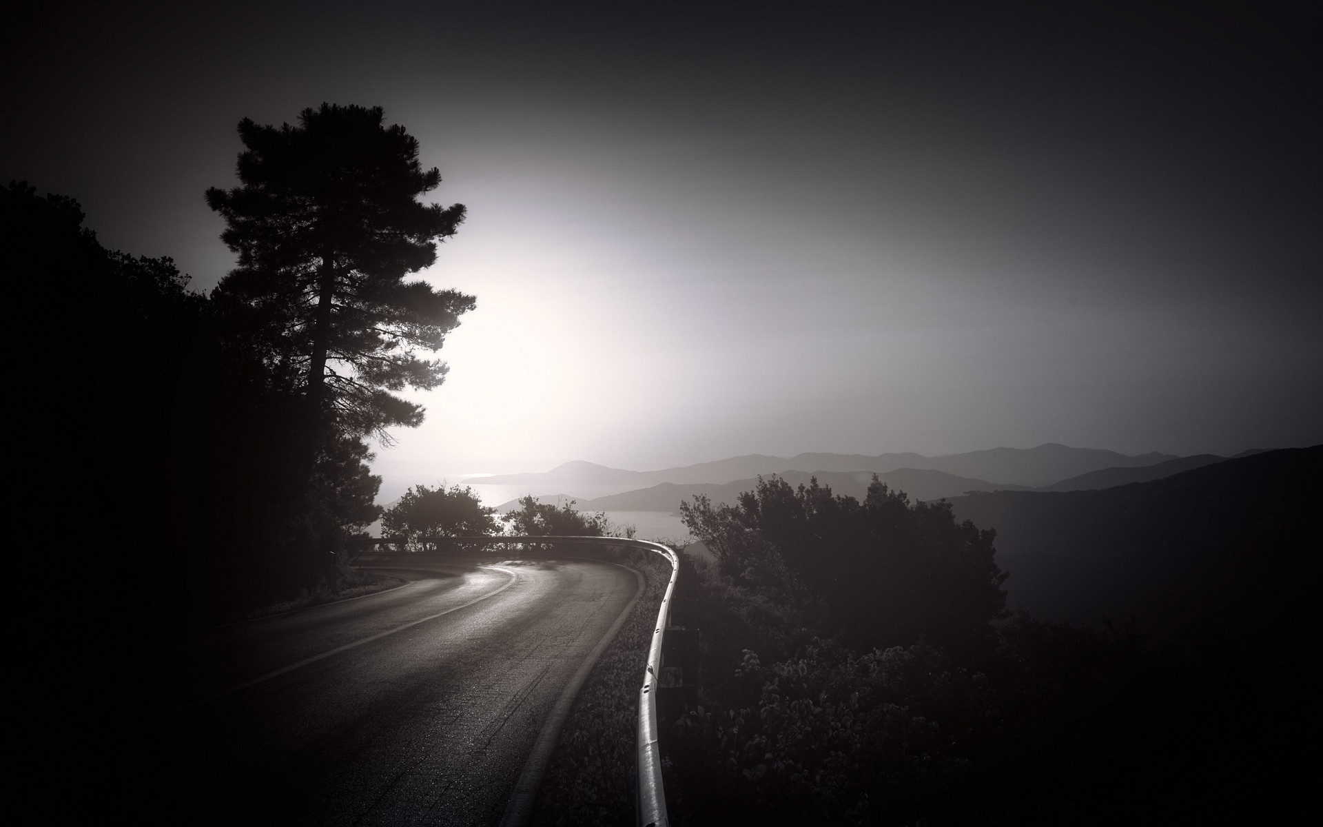 Dark road hd nature 4k wallpapers images backgrounds photos and pictures - Hd wallpapers of darkness ...