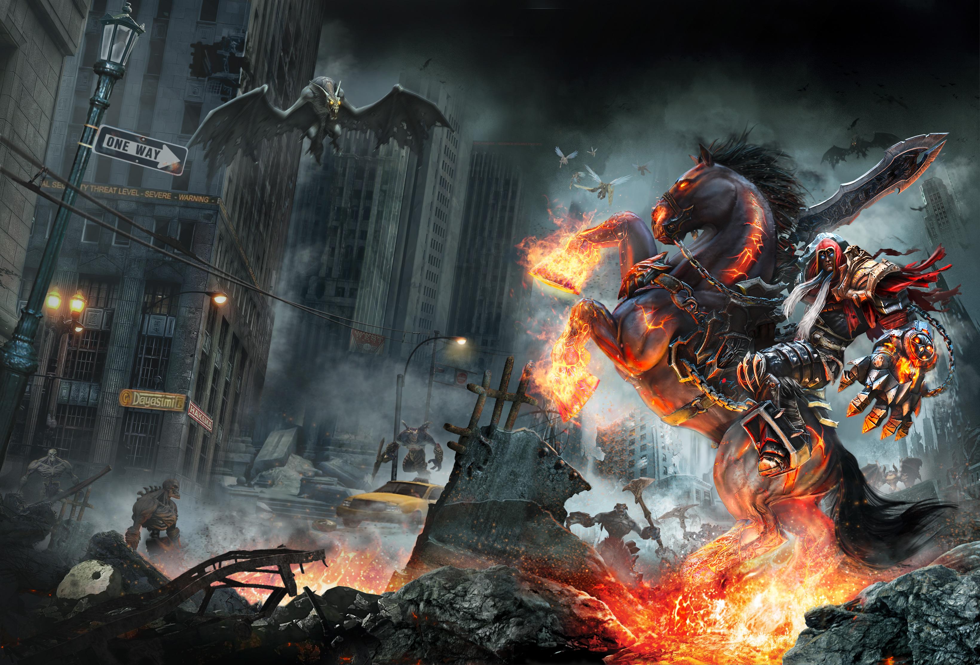 2560x1080 Playerunknowns Battlegrounds 2017 Game 2560x1080: Darksiders Game Warmastered Edition 2017, HD Games, 4k