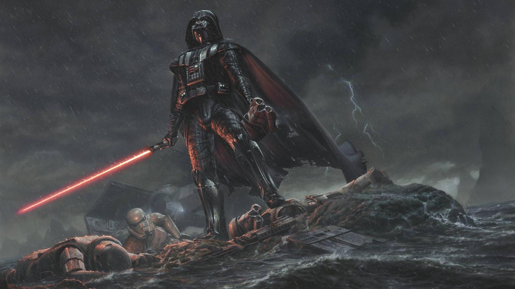 2048x1152 Darth Vader Star Wars 4k 2048x1152 Resolution HD