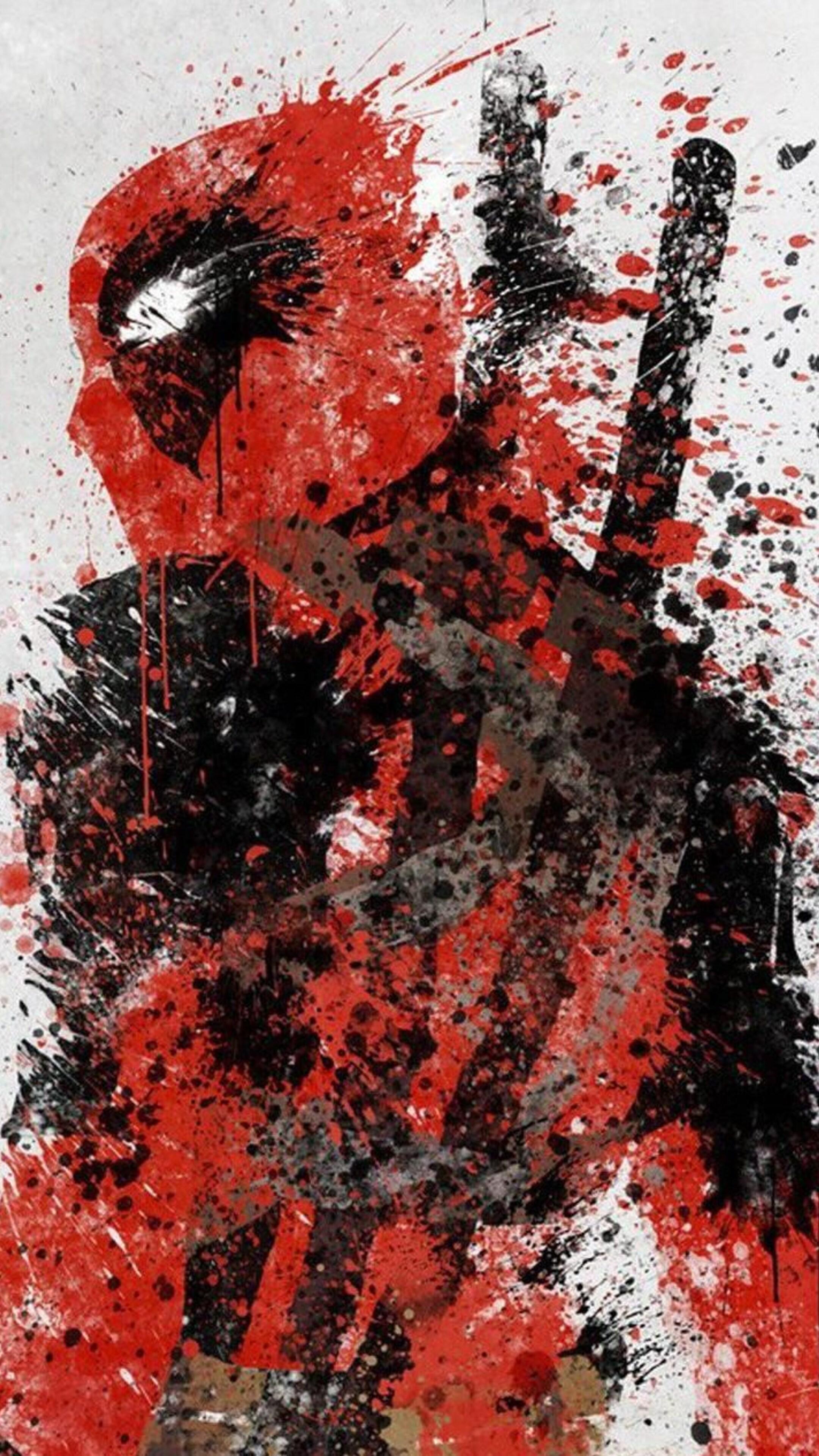 2160x3840 deadpool artwork sony xperia x xz z5 premium hd - Art wallpaper 2160x3840 ...