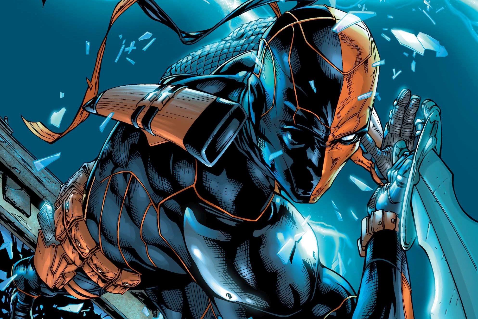 Deathstroke Dc Comics Artwork, HD Superheroes, 4k ...