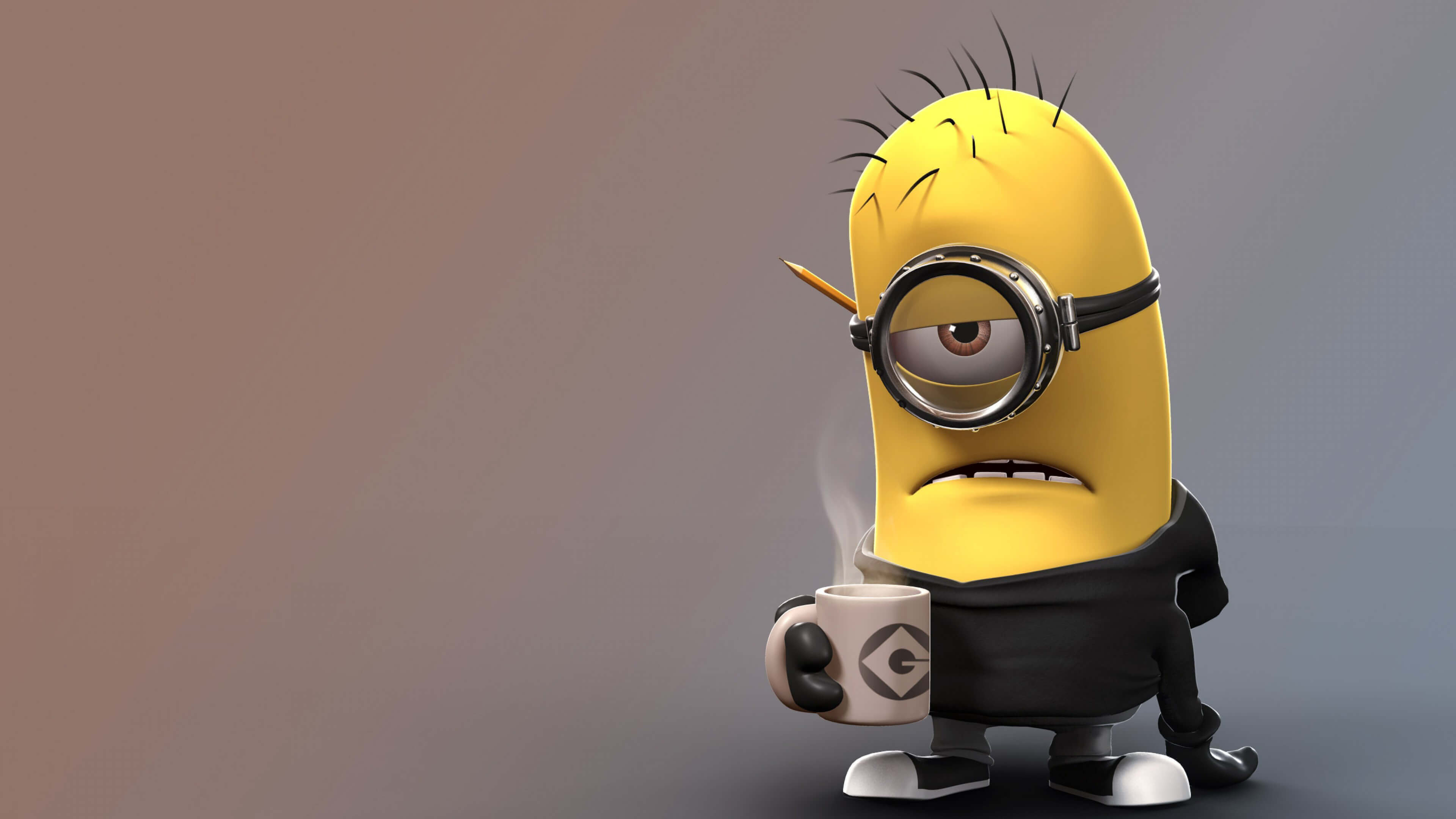 1920x1080 Despicable Me Angry Minion Laptop Full HD 1080P