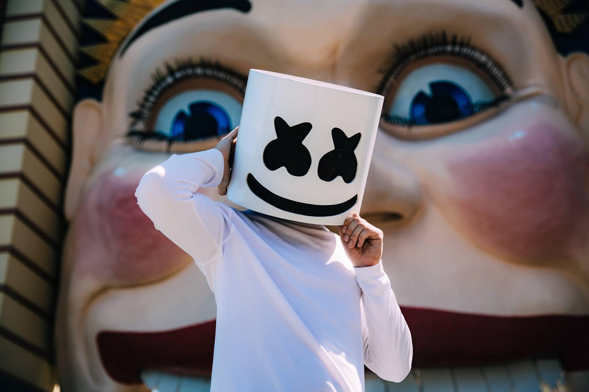 Dj Marshmello 2, HD Music, 4k Wallpapers, Images ... Cartoon Kid Singer
