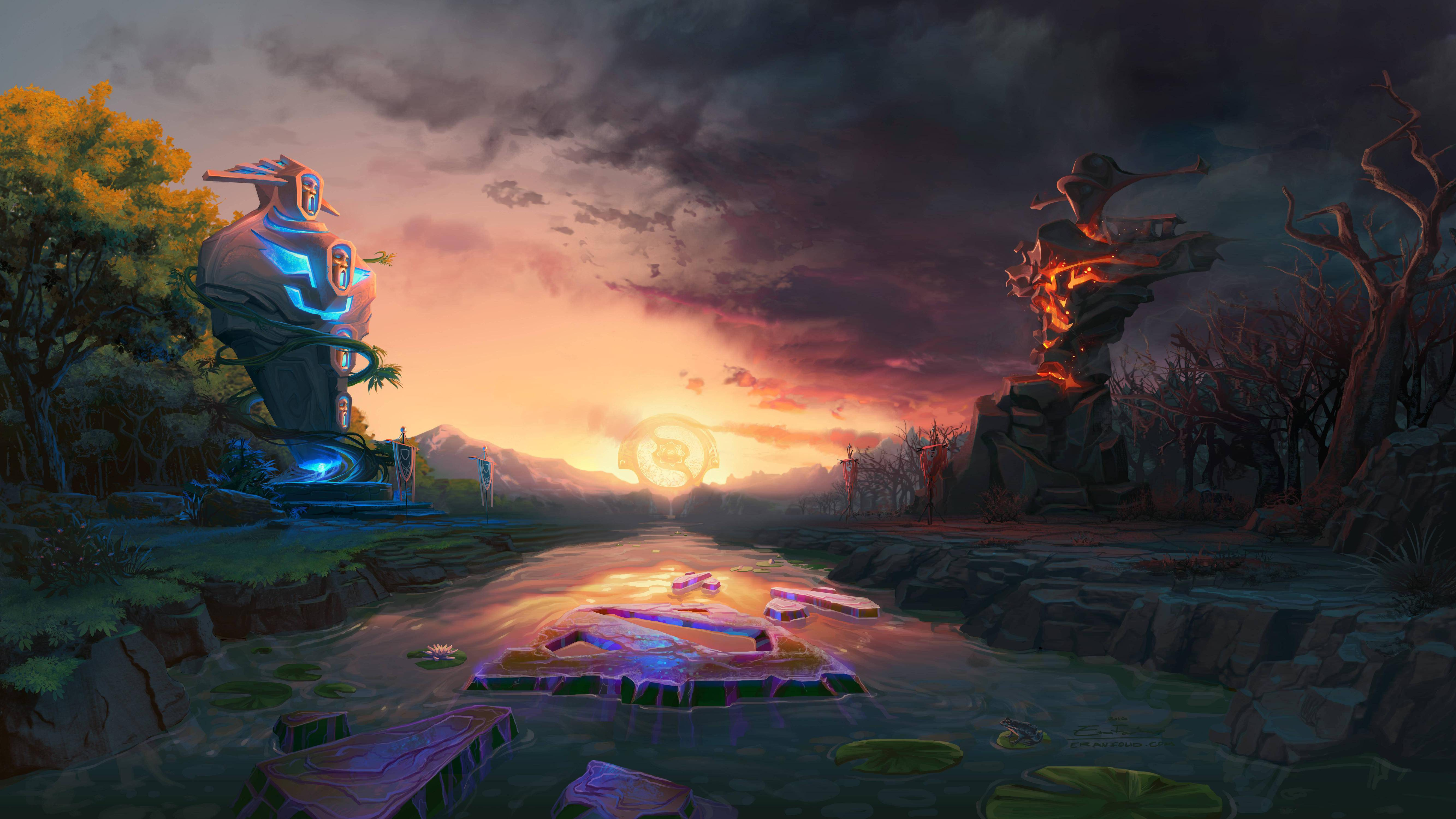 Dota 2 the calm before the horn hd games 4k wallpapers images backgrounds photos and pictures - Wallpaper hd dota ...