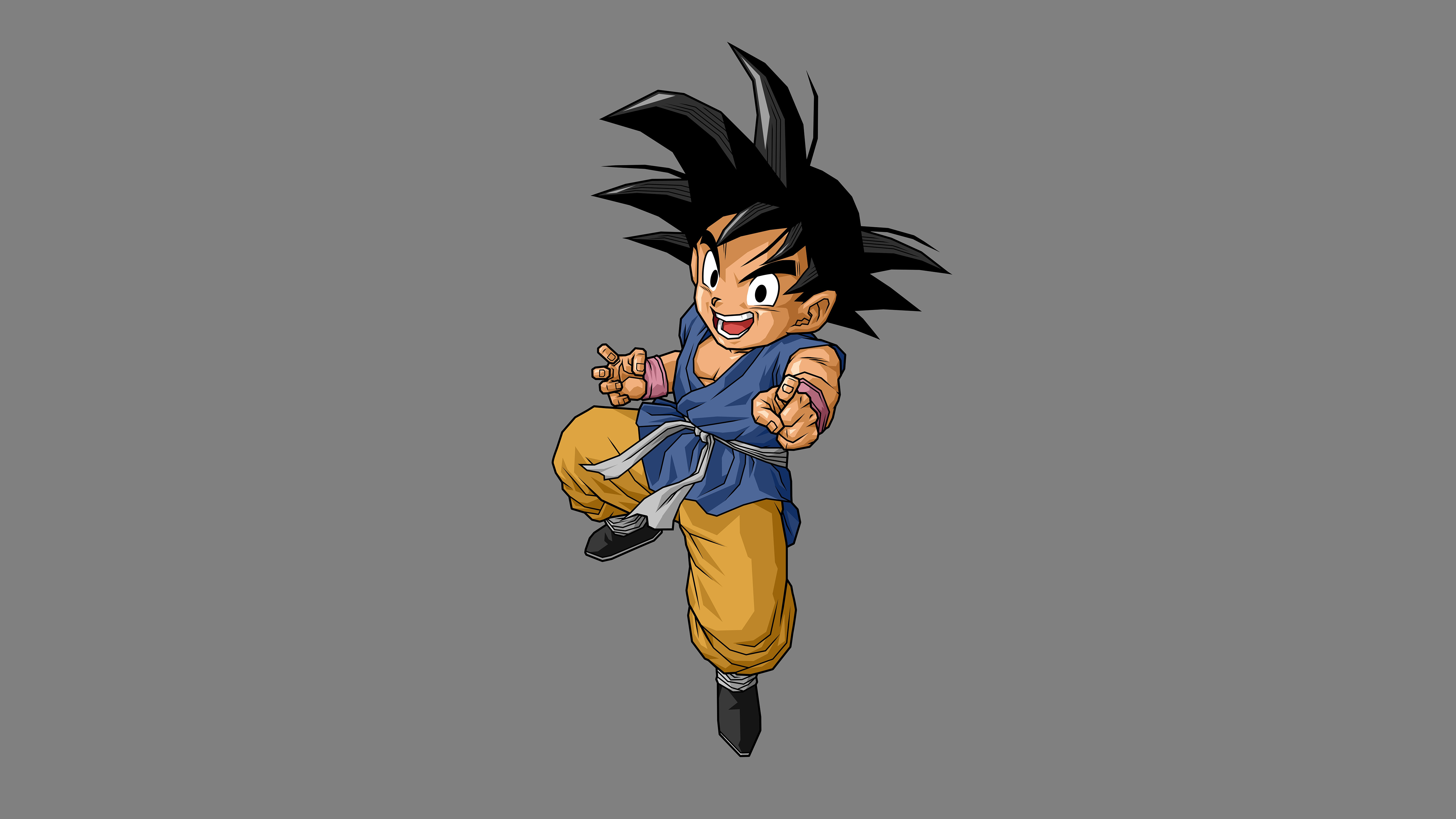 Dragon ball son goku 5k minimalism hd anime 4k - 5k anime wallpaper ...