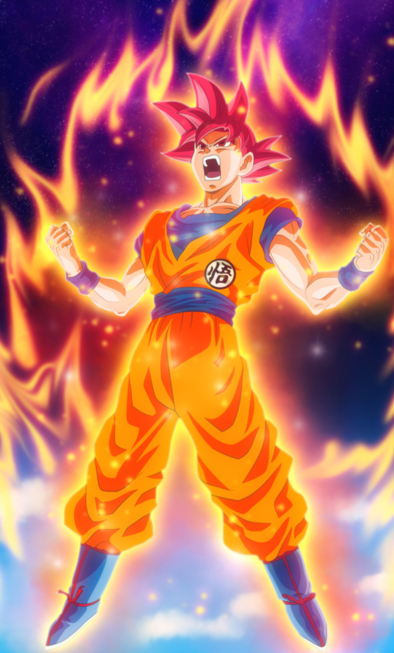 1280x2120 Dragon Ball Z Goku iPhone 6+ HD 4k Wallpapers, Images, Backgrounds, Photos and Pictures