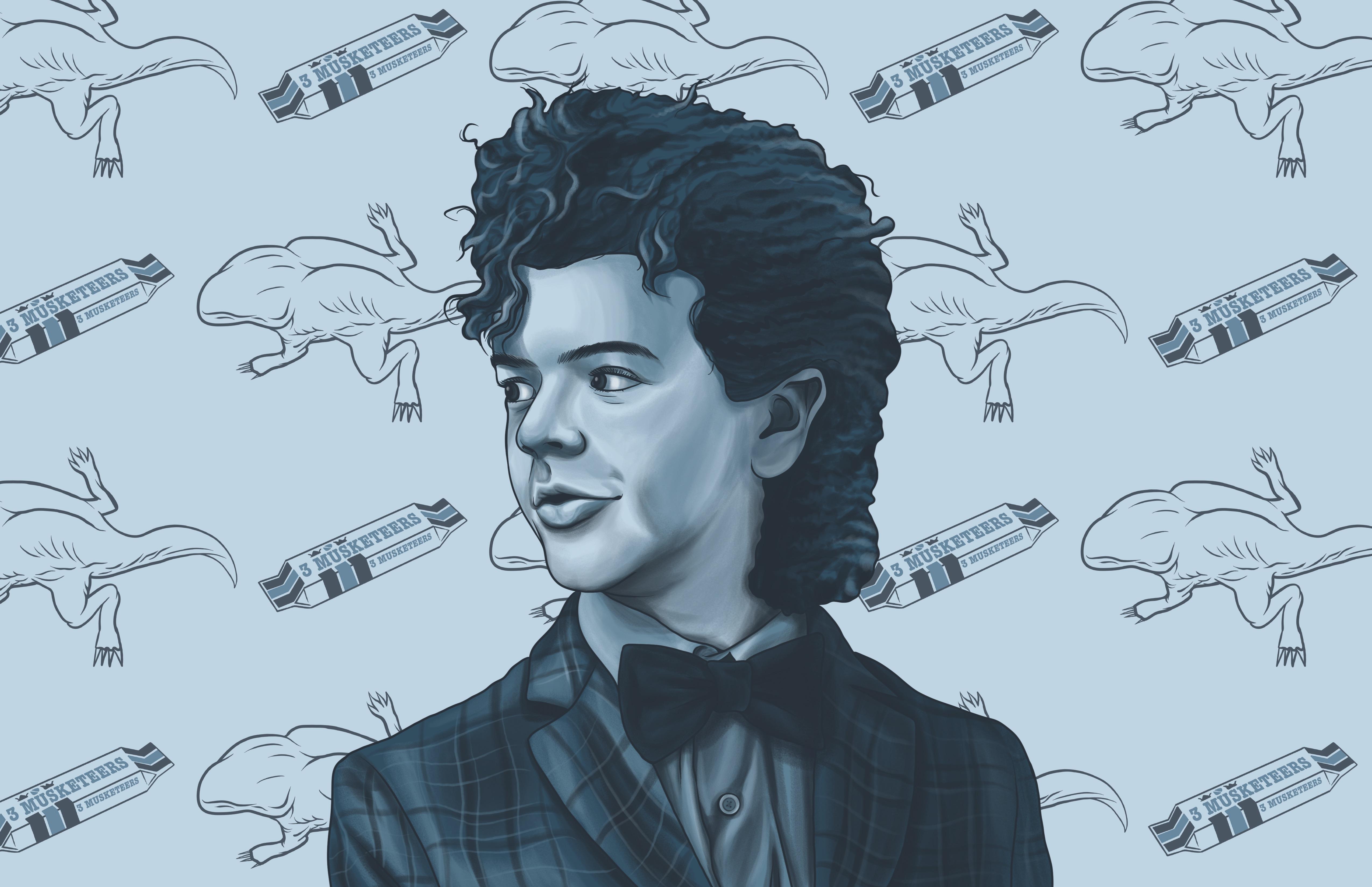 2048x2048 Anthem Ipad Air Hd 4k Wallpapers Images: 2048x2048 Dustin Stranger Things Season 2 FanArt Ipad Air