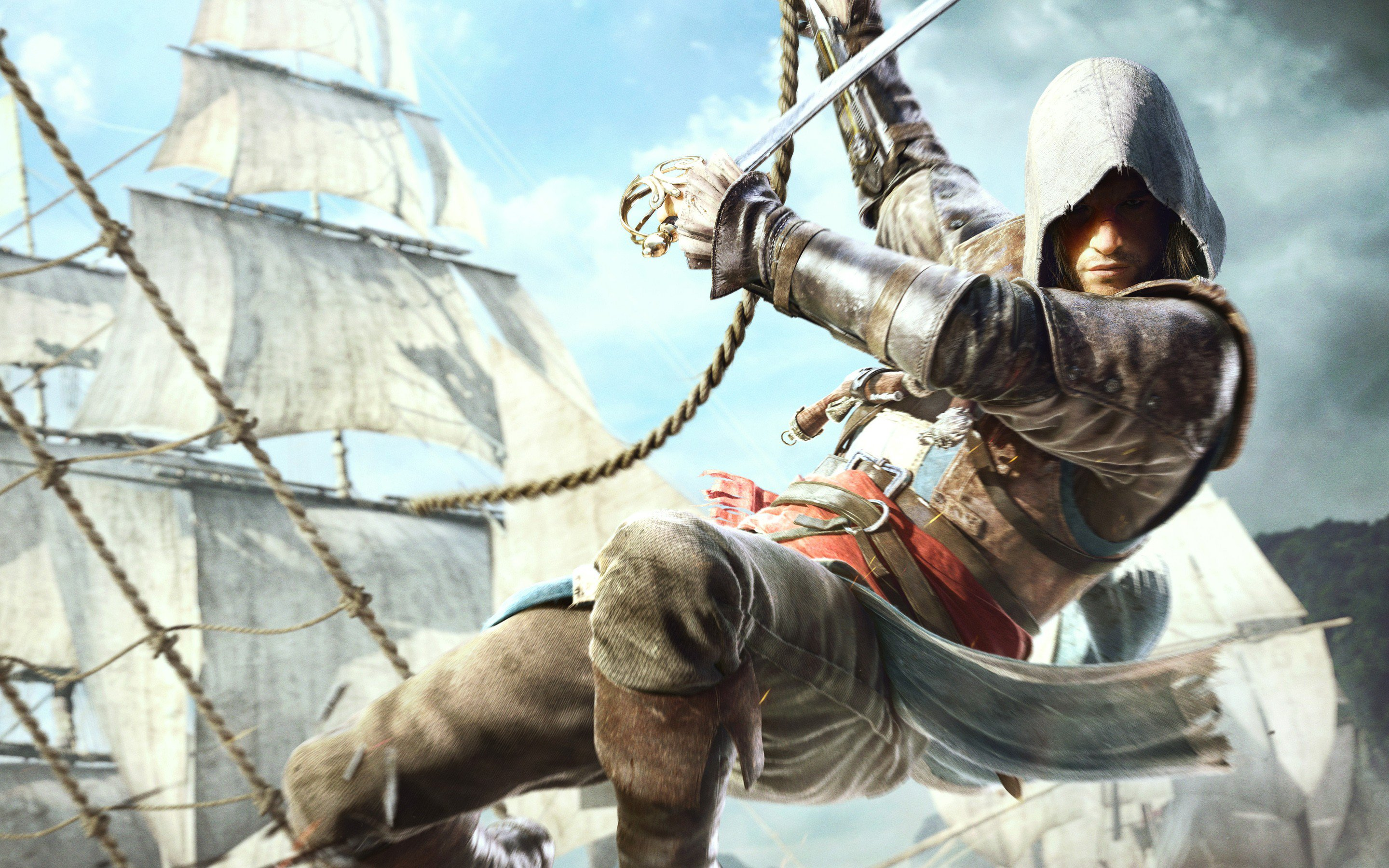 Edward Kenway In Assassins Creed 4, HD Games, 4k ...
