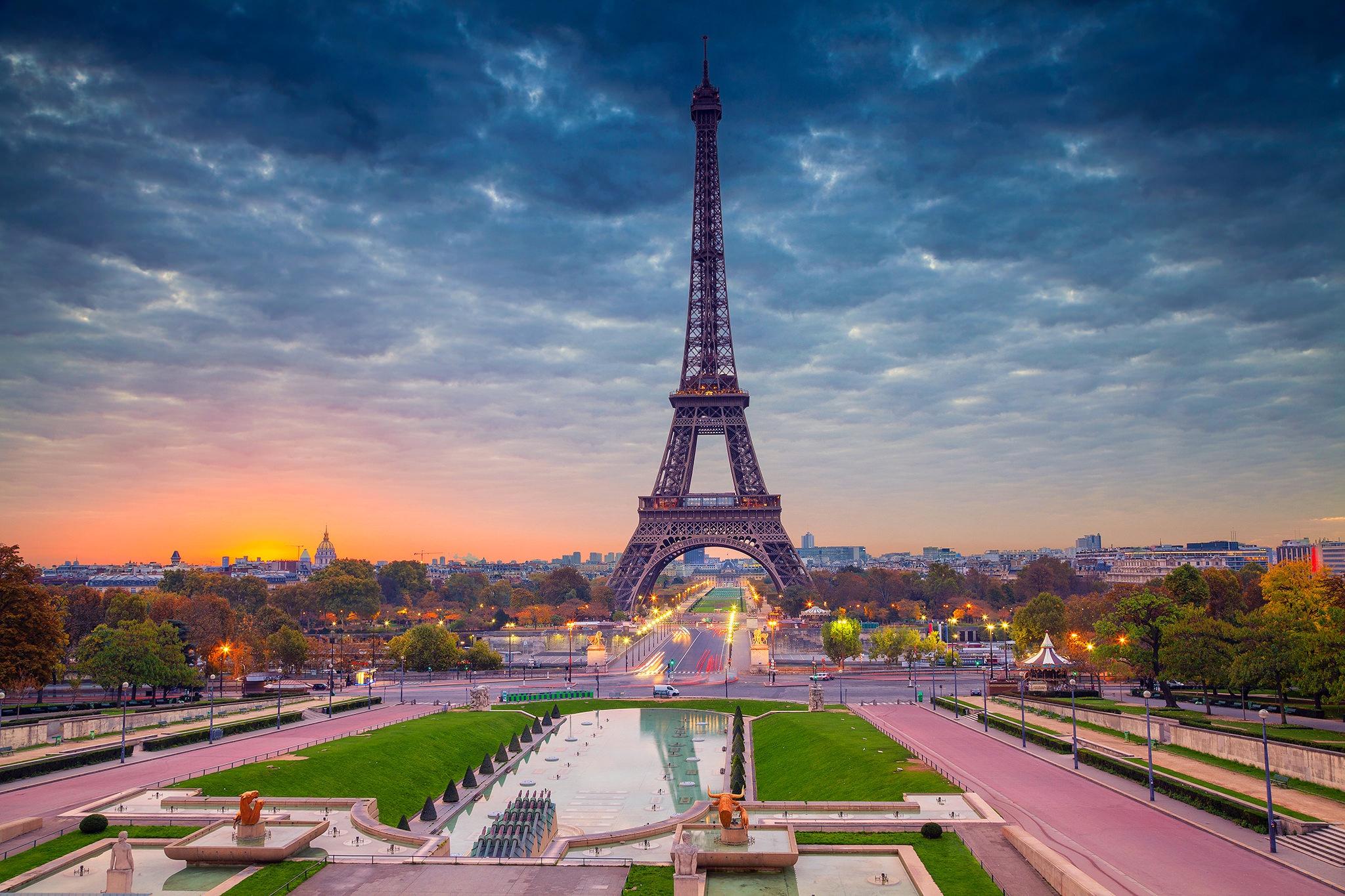 1920x1080 Eiffel Tower Paris Beautiful View Laptop Full Hd