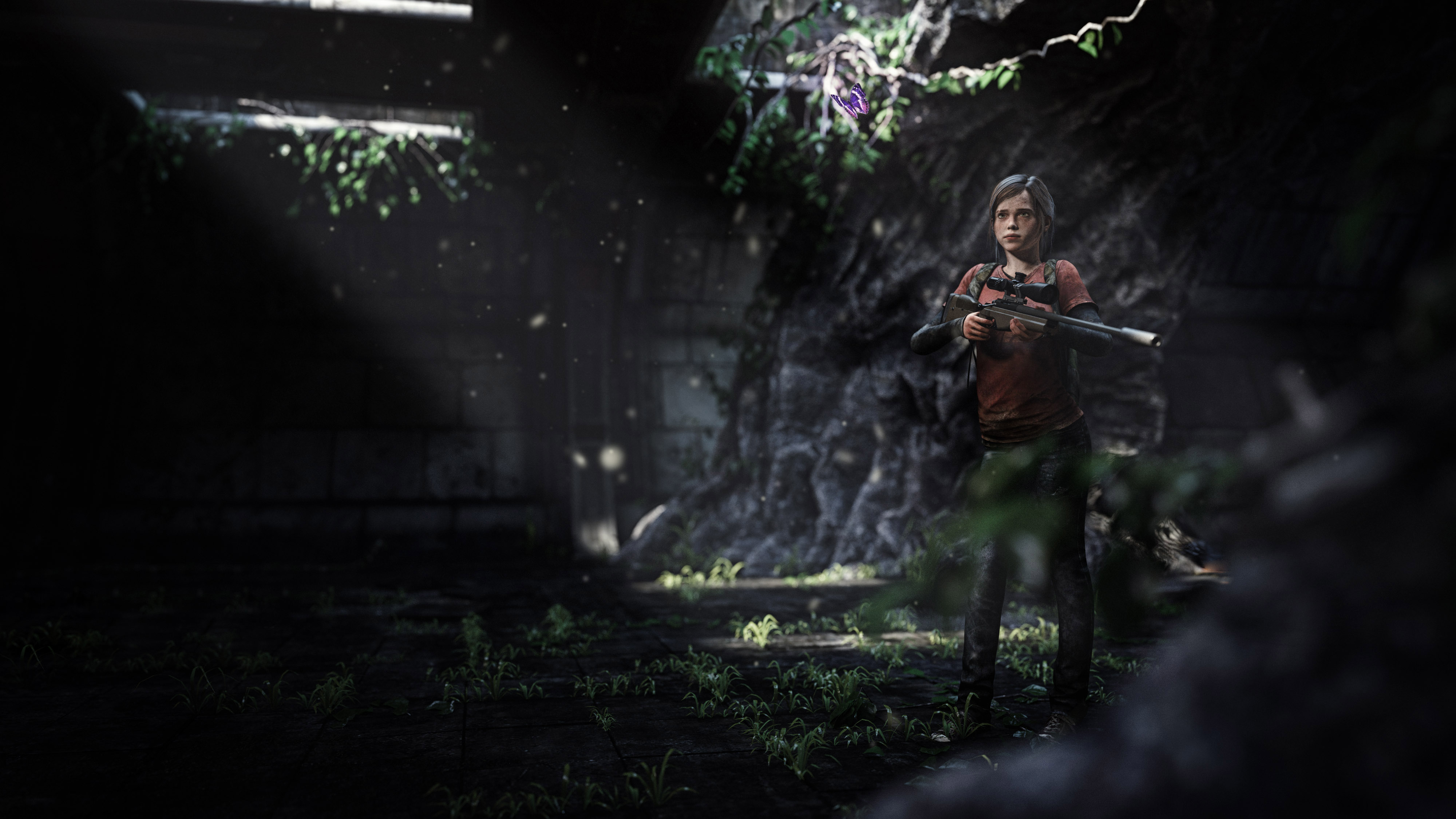 The Last Of Us Wallpaper 4k: 3840x2400 Elle The Last Of Us 3d Art 4k HD 4k Wallpapers