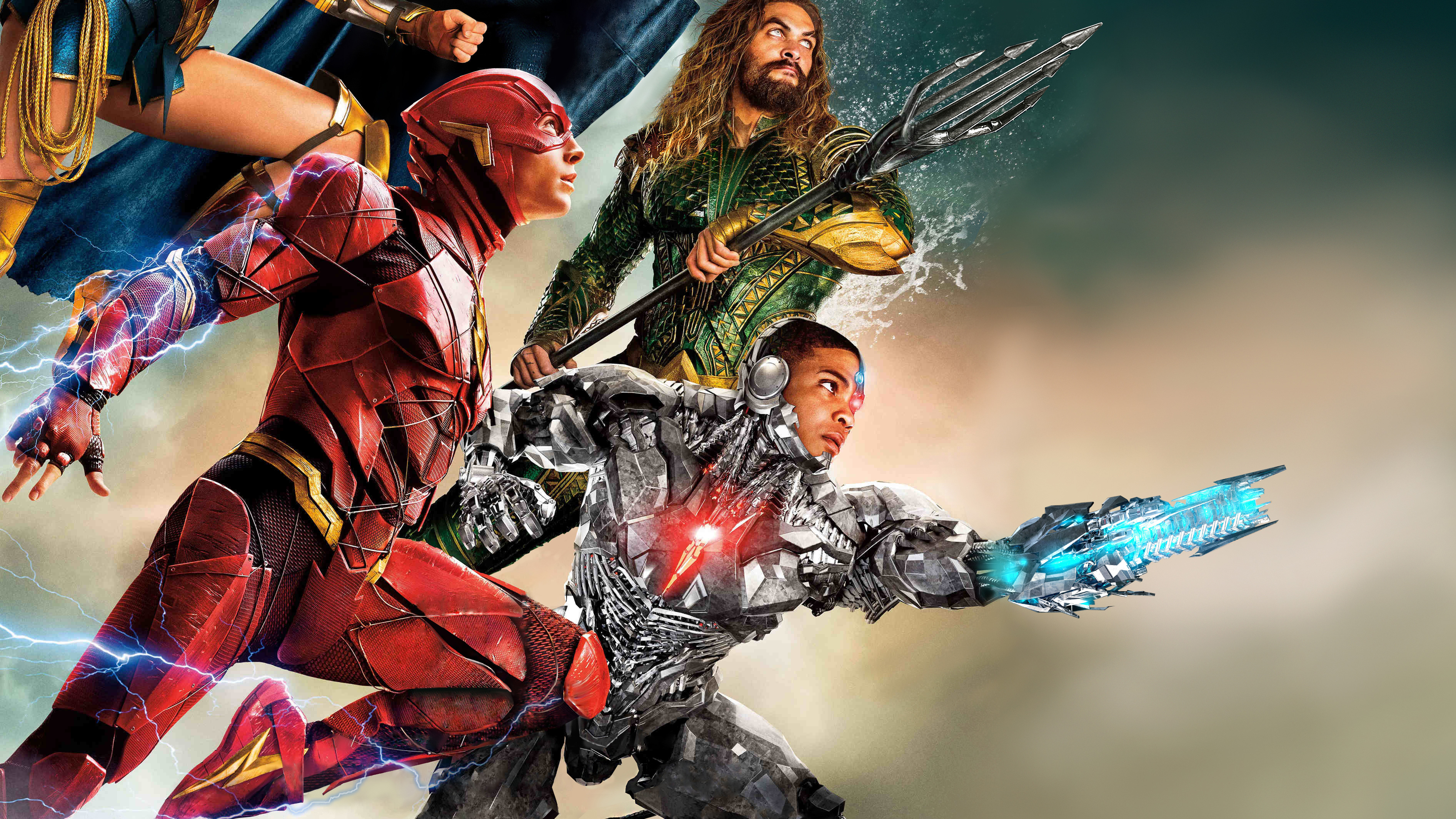 Justice League Movie Hd Movies 4k Wallpapers Images: Flash Cyborg Aquaman Justice League 4k, HD Movies, 4k