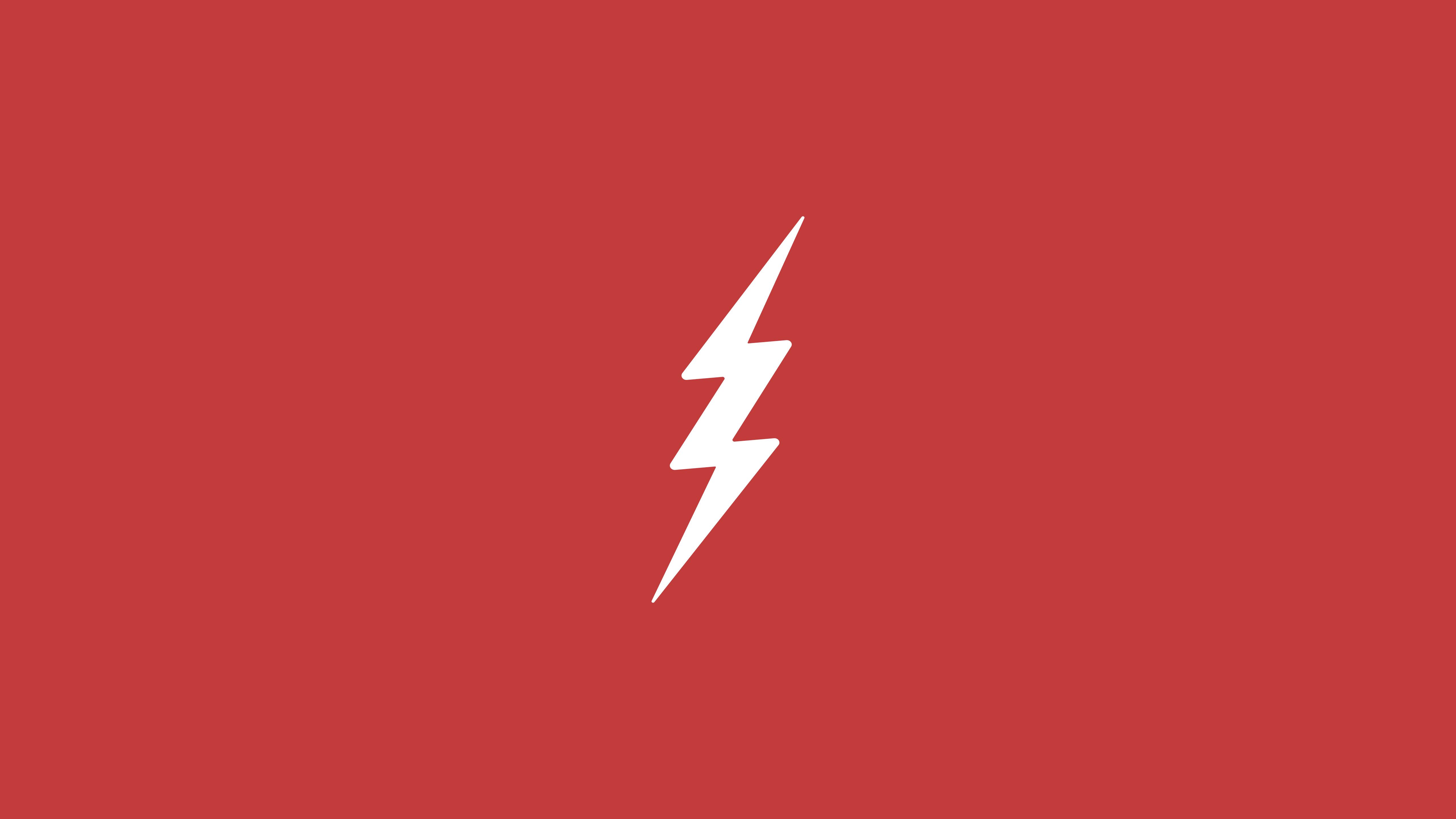 flash logo minimalism hd artist 4k wallpapers images
