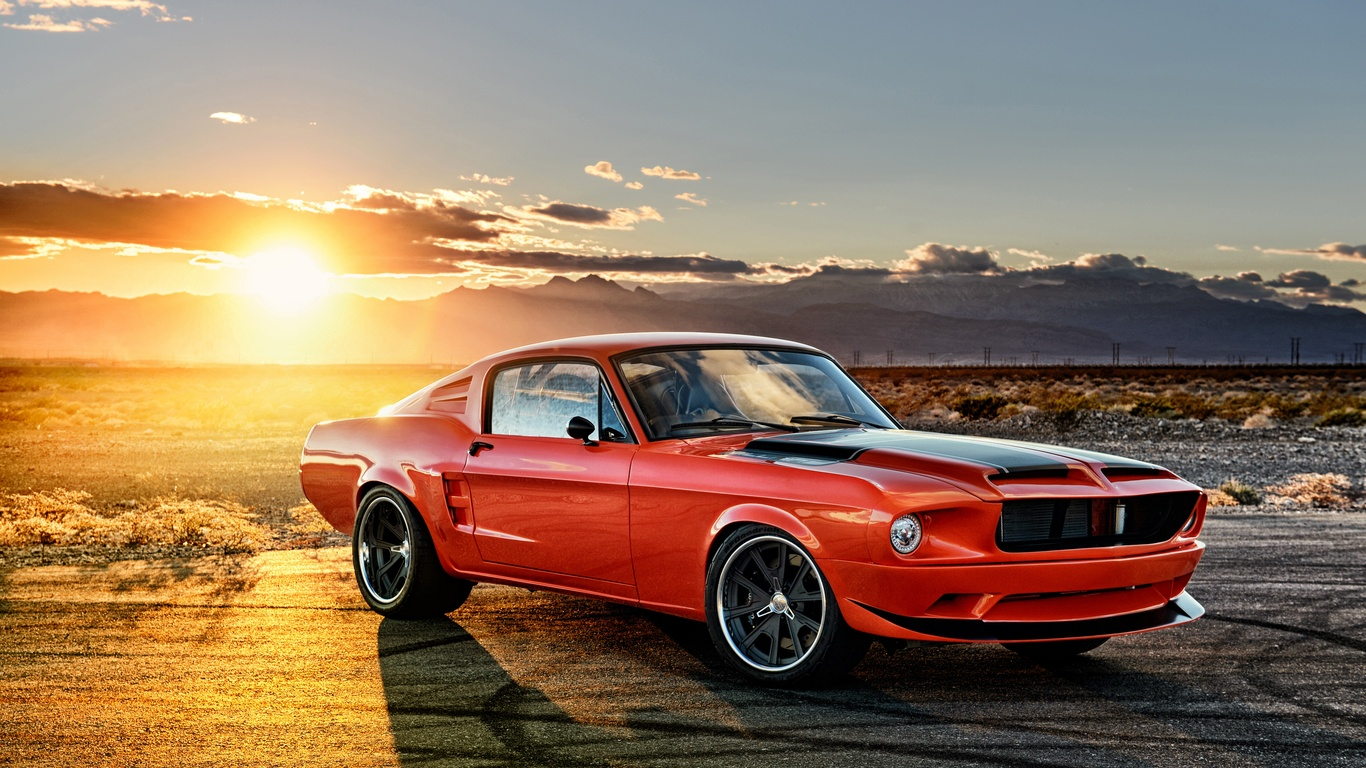 1366x768 Ford Mustang Muscle Car 4k 1366x768 Resolution HD ...