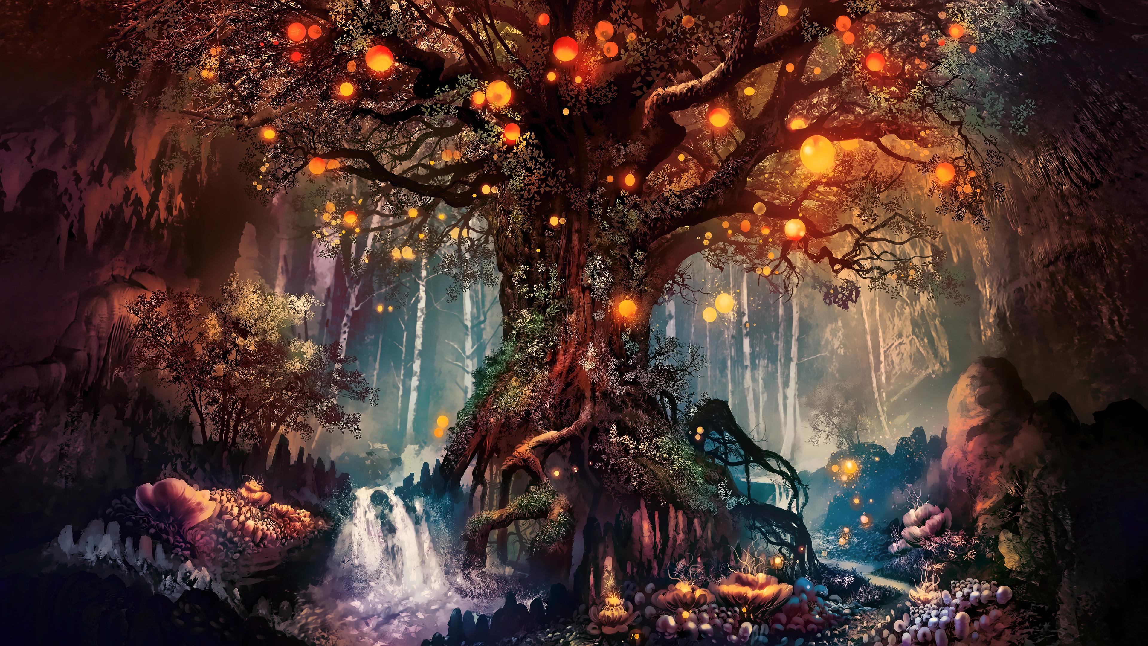 2880x1800 Forest Fantasy Artwork 4k Macbook Pro Retina HD