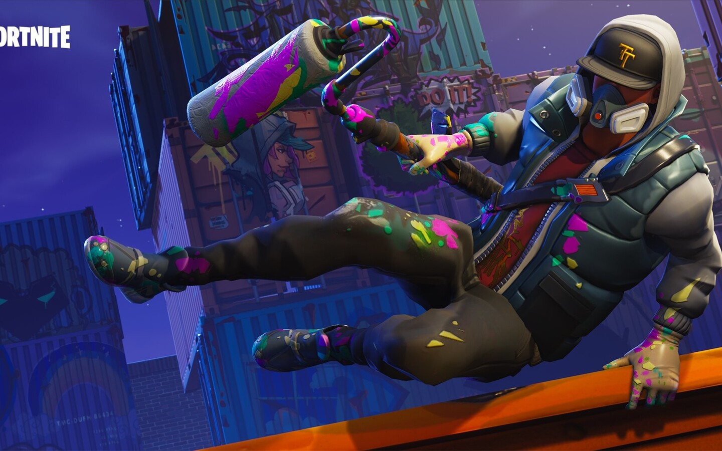 fortnite wallpaper 1440x900: 1440x900 Fortnite Battle Royale Abstrakt Skin 1440x900