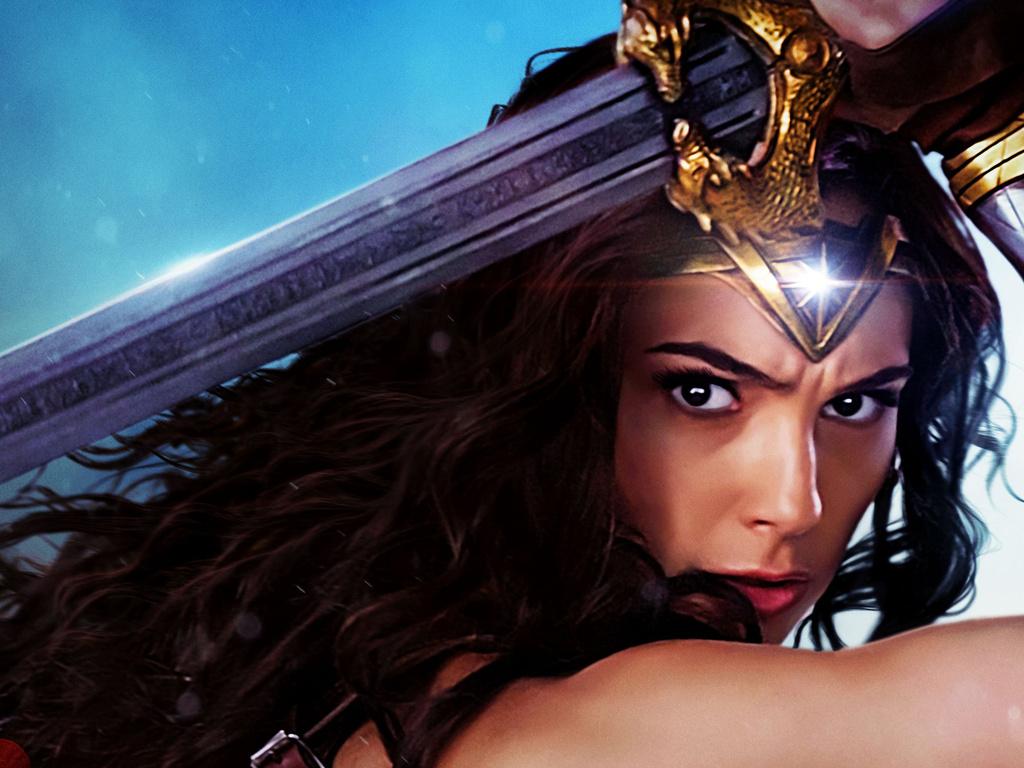 Wonder Woman Gal Gadot 2017 Wallpapers: 1024x768 Gal Gadot Wonder Woman Movie 2017 1024x768