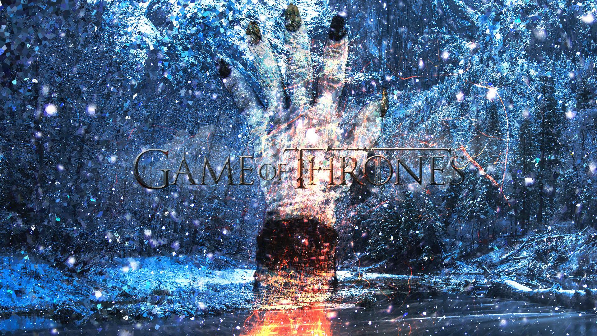 4k Game Of Thrones Wallpaper: Game Of Thrones Logo Art, HD Tv Shows, 4k Wallpapers