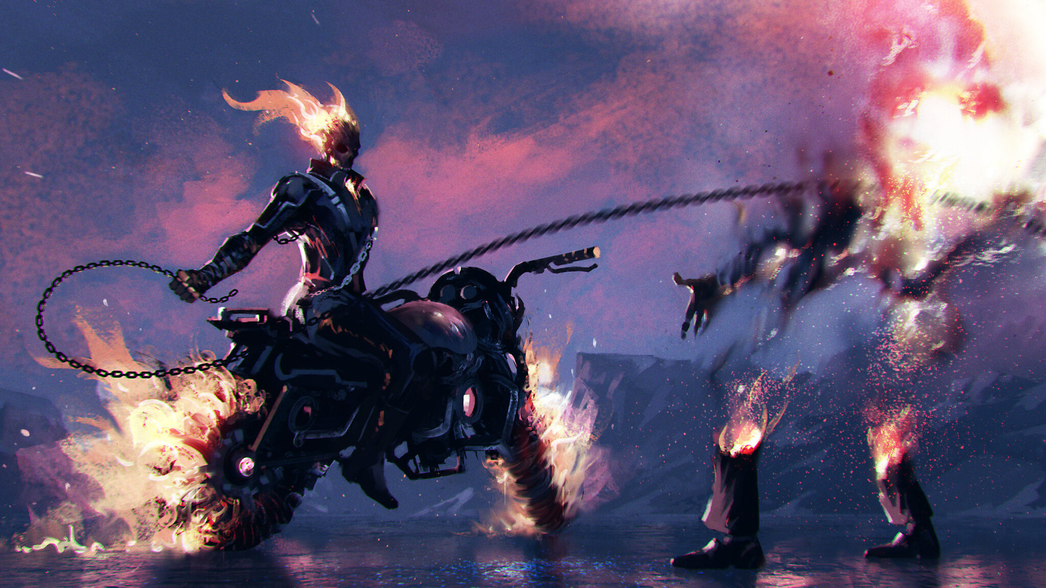 2048x1152 Pubg Bike Rider 4k 2048x1152 Resolution Hd 4k: 2048x1152 Ghost Rider Artwork 2048x1152 Resolution HD 4k