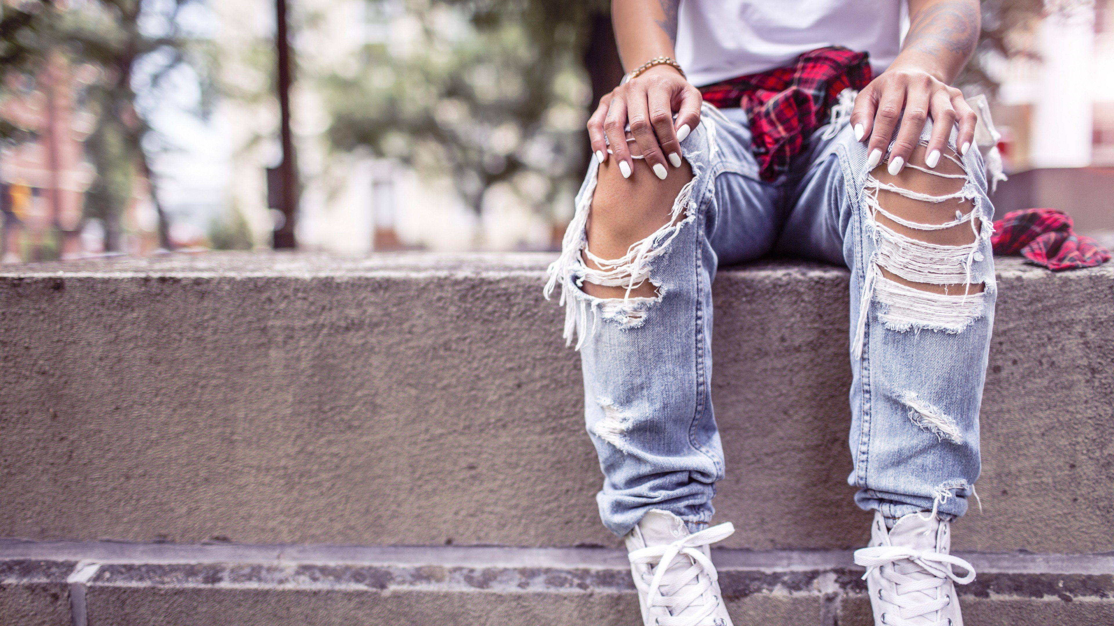 Girl Style Shoes Jeans, HD Lifestyle, 4k Wallpapers