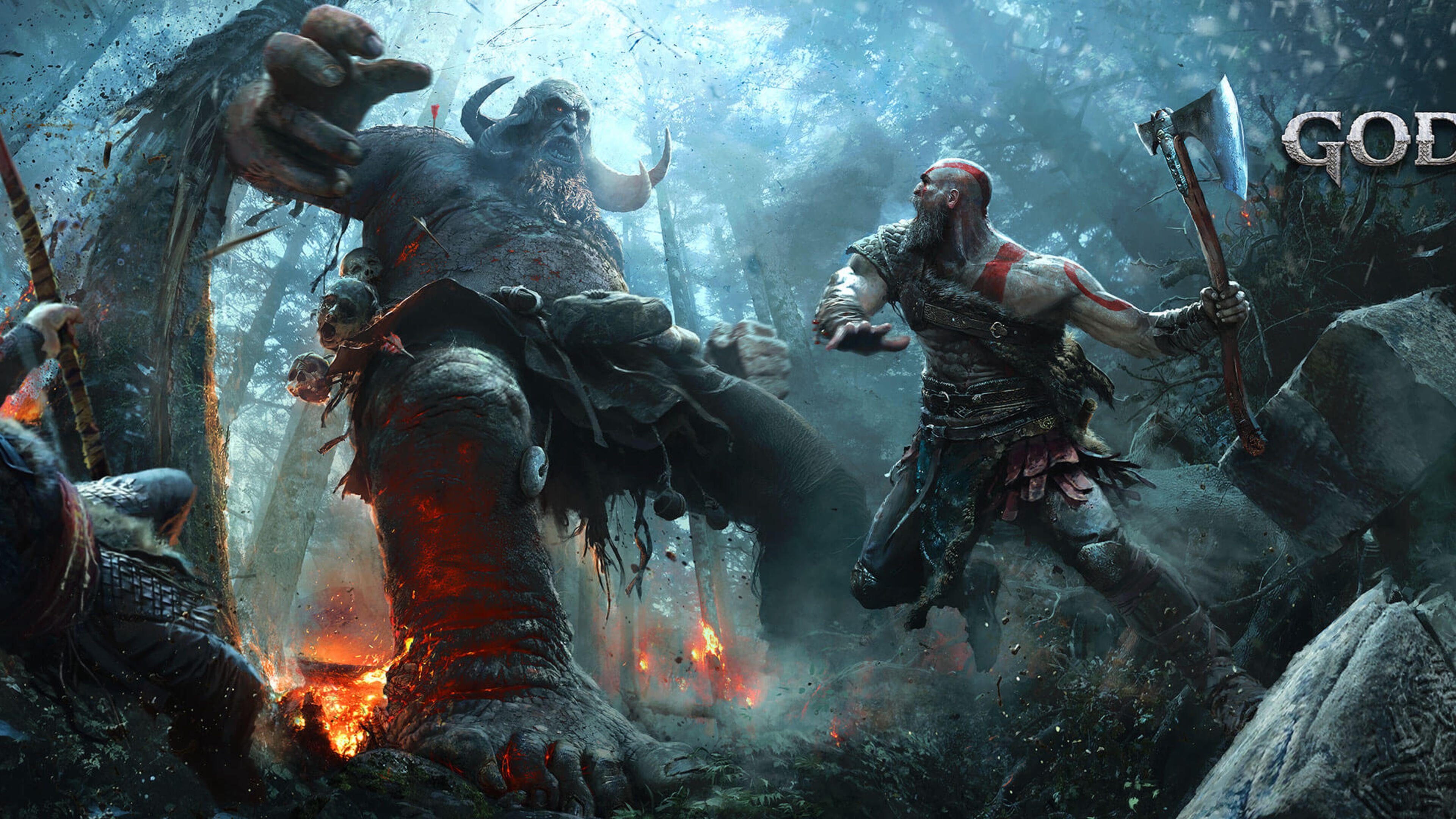 3840x2160 god of war 2017 4k hd 4k wallpapers images - 4k wallpaper of god ...