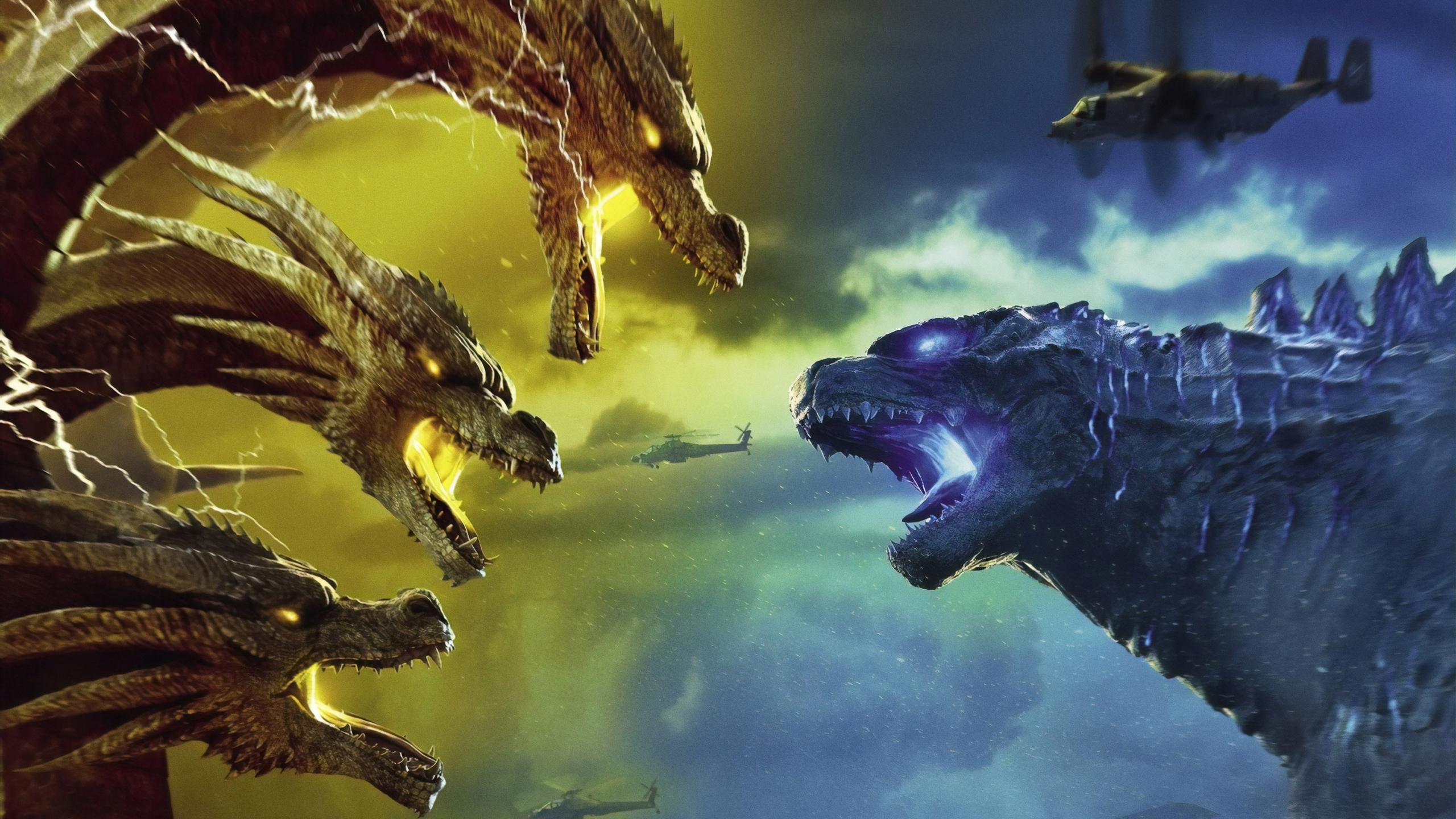 2560x1440 Godzilla King Of The Monsters 4k 1440P ...