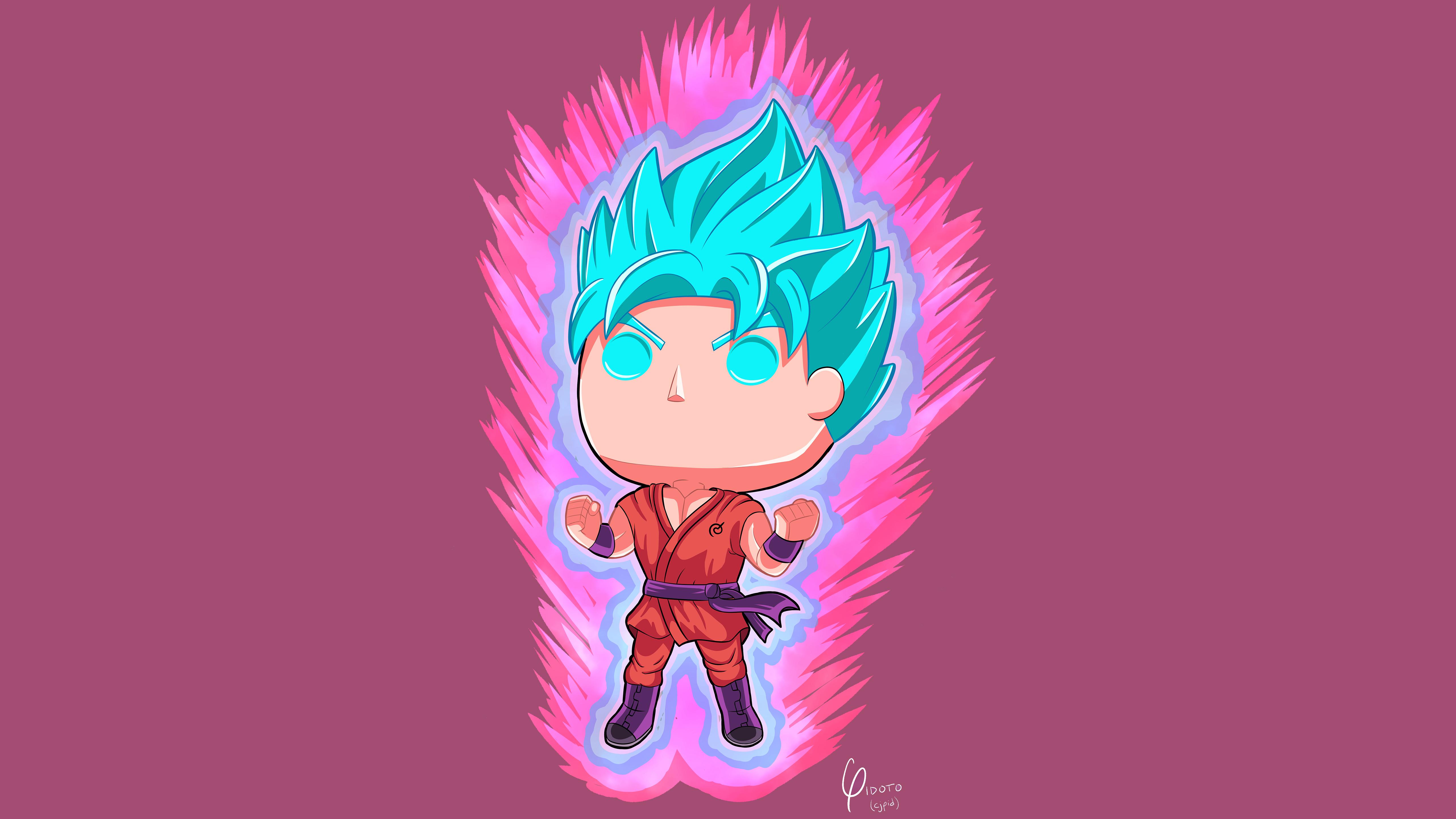 Goku Dragon Ball Super Anime 5k Artwork, HD Anime, 4k ...