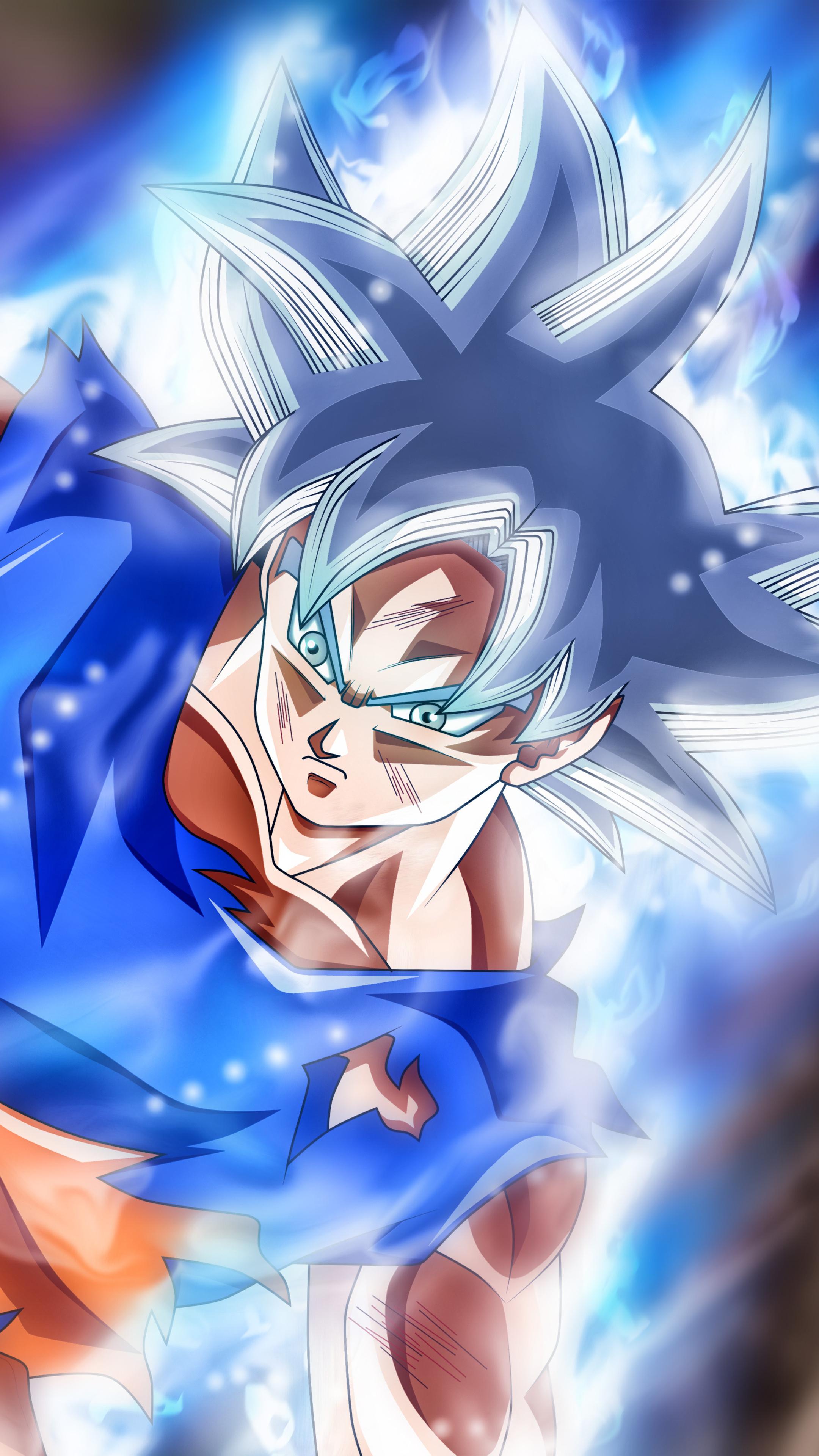 2160x3840 Goku Jiren Masterd Ultra Instinct Sony Xperia X