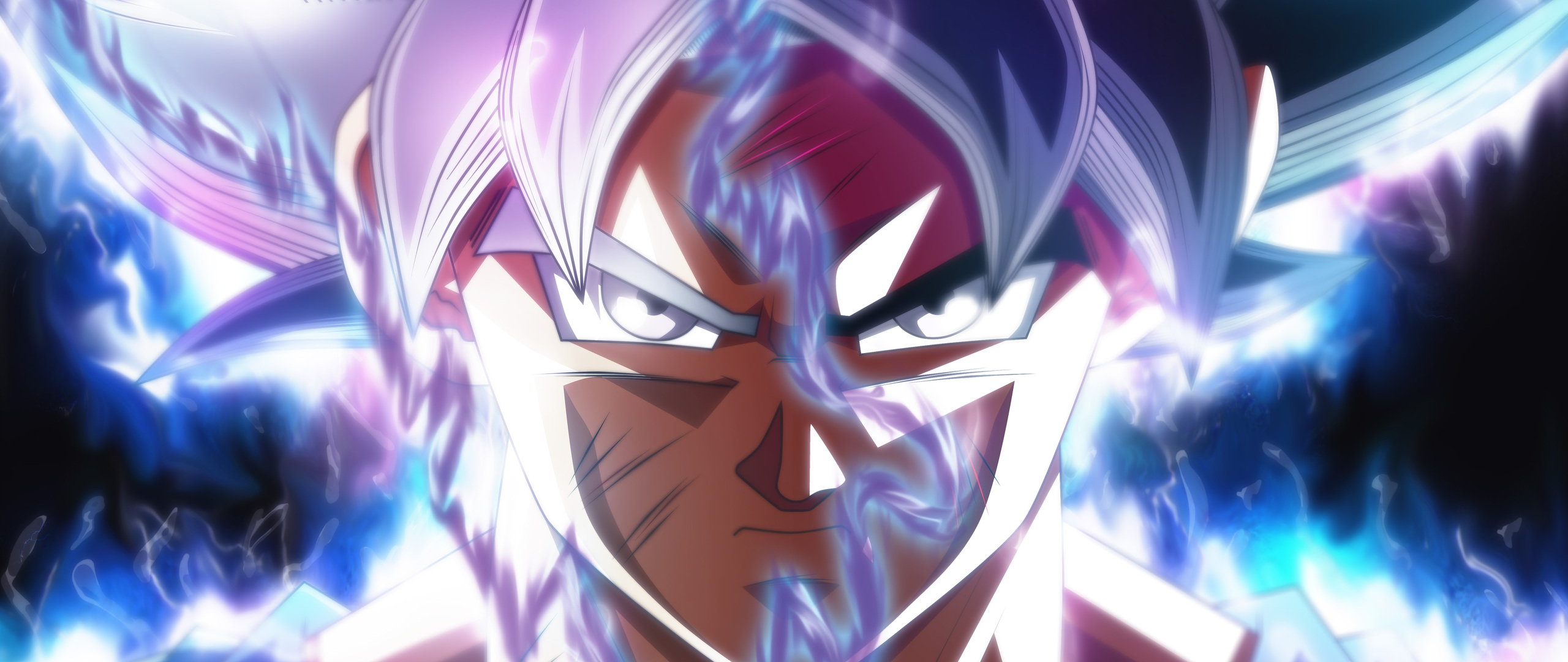 Goku Ultra Instinct Wallpaper Hd: 2560x1080 Goku Ultra Instinct Transformation 2560x1080