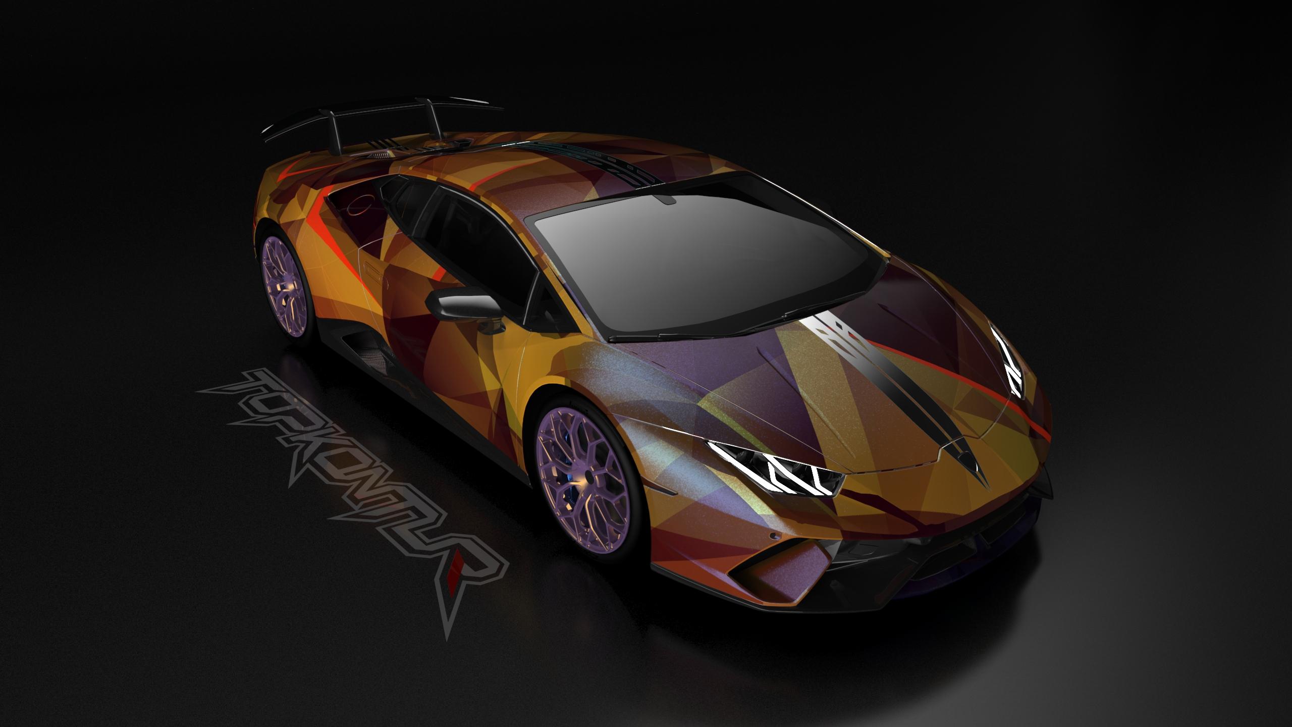 Gold And Wine Lamborghini Huracan, HD Cars, 4k Wallpapers ...