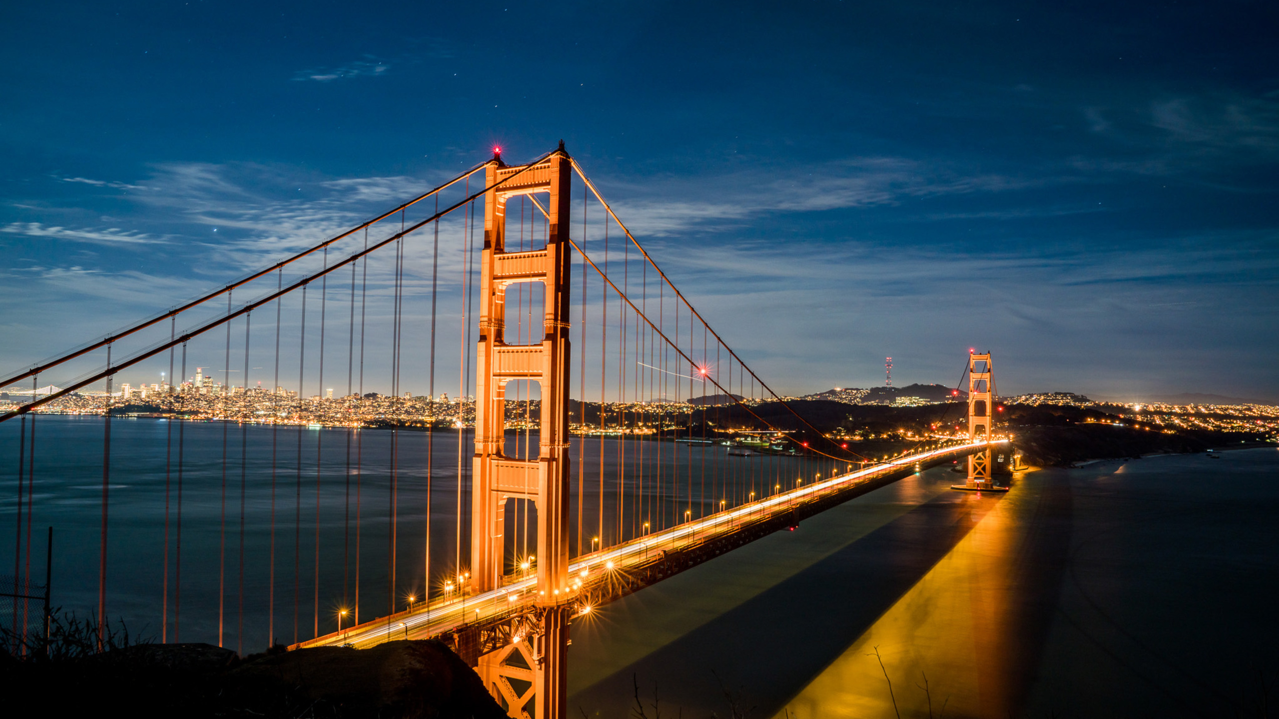 2560x1440 Golden Gate Bridge 1440P Resolution HD 4k ...