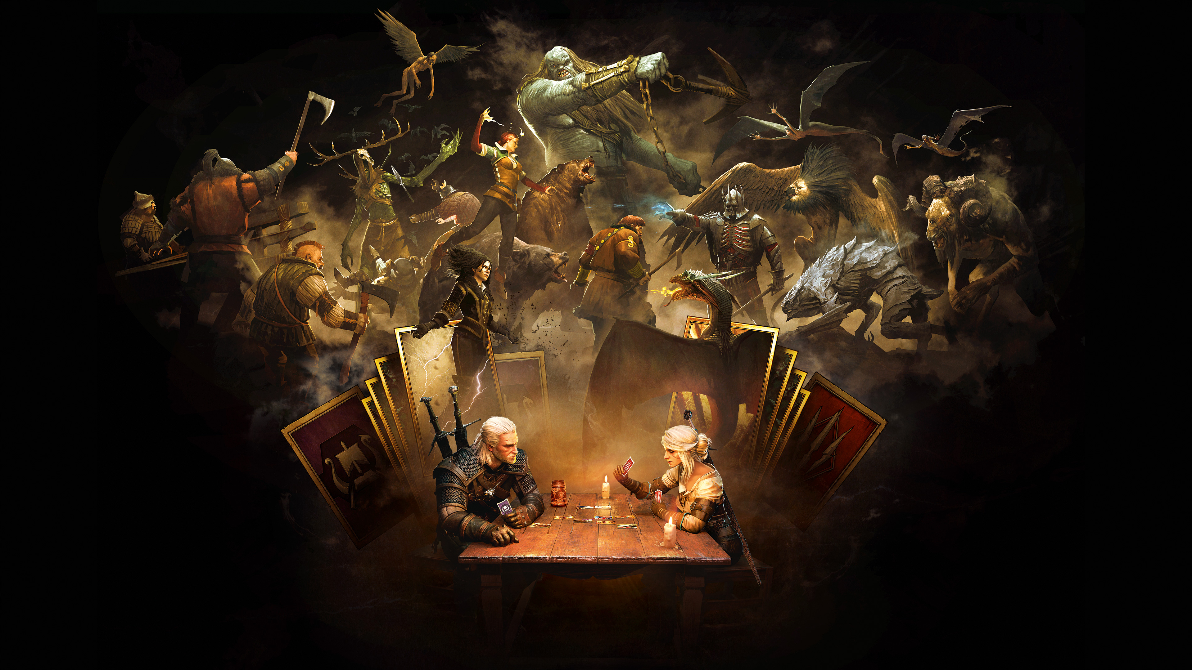 Gwent the witcher card game hd games 4k wallpapers - The witcher wallpaper 4k ...