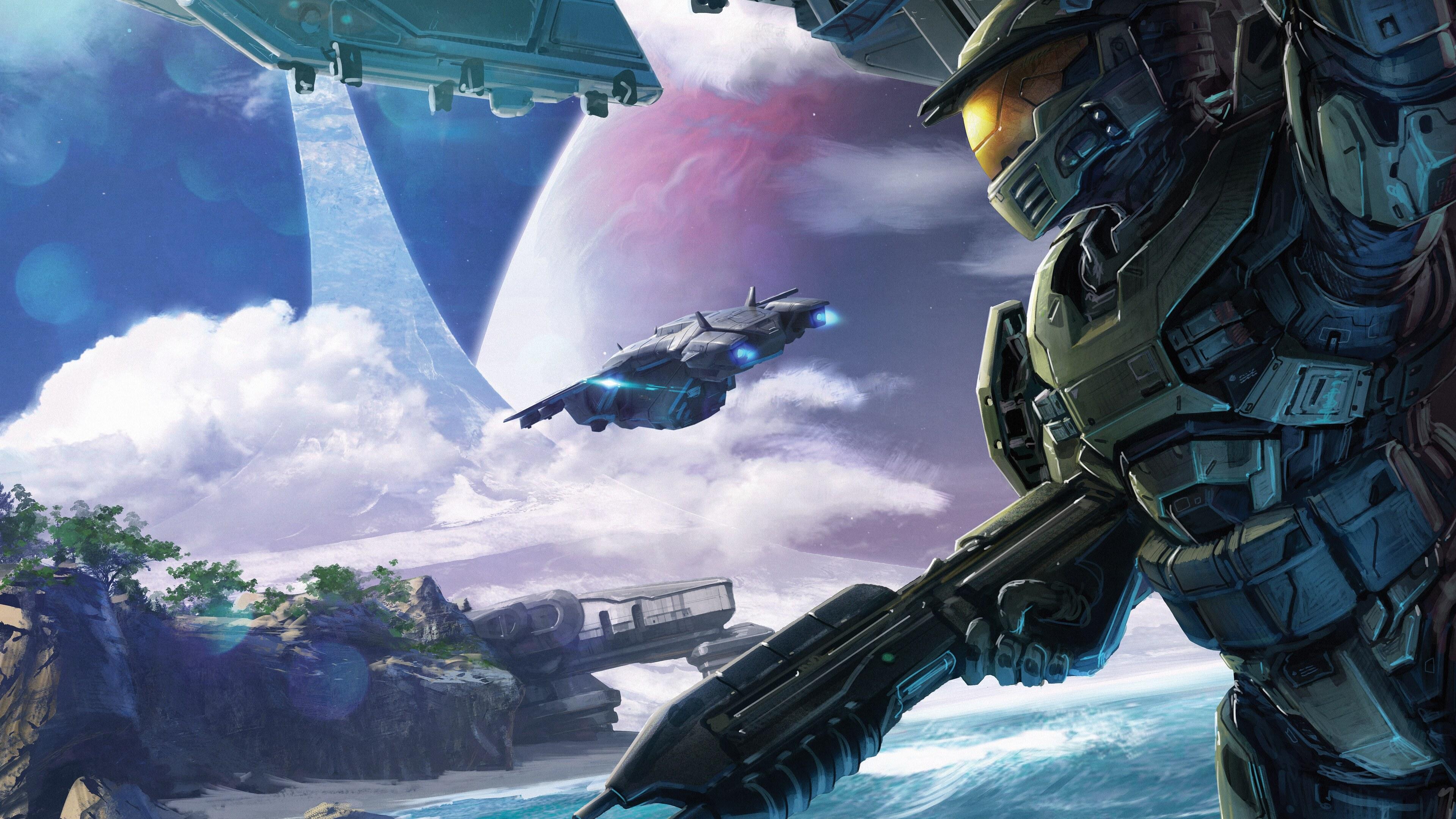 3840x2160 Halo Conflict Artwork 5k 4k HD 4k Wallpapers ...