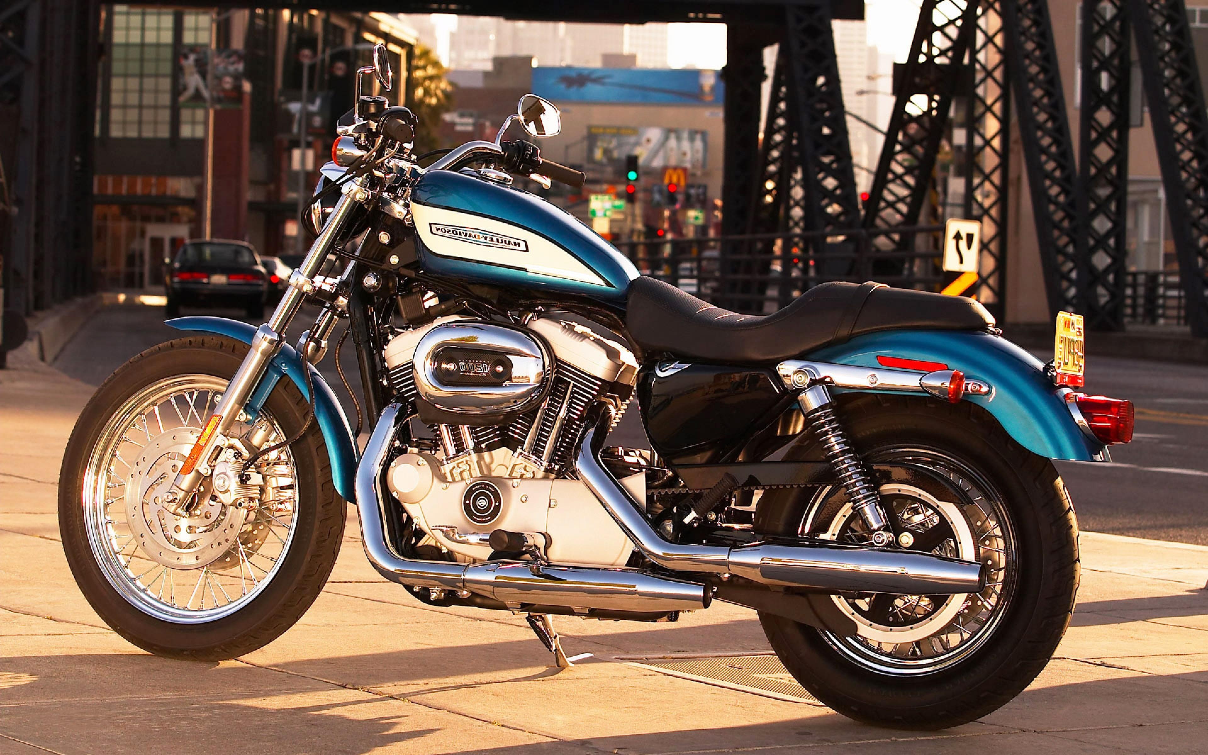 Harley Davidson City, HD Bikes, 4k Wallpapers, Images