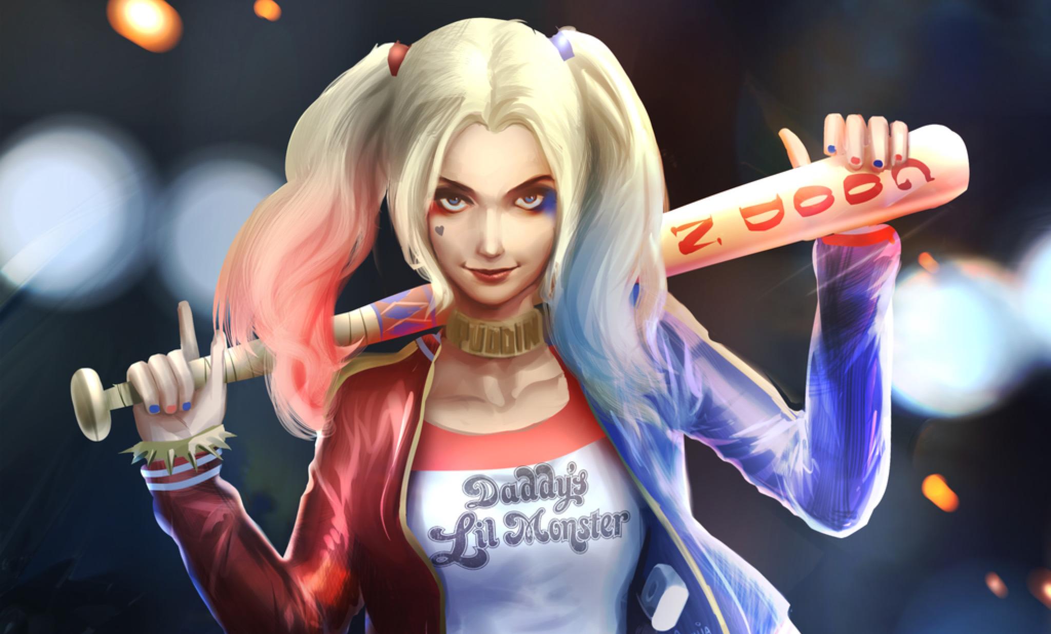 Harley Quinn Art HD, HD Artist, 4k Wallpapers, Images