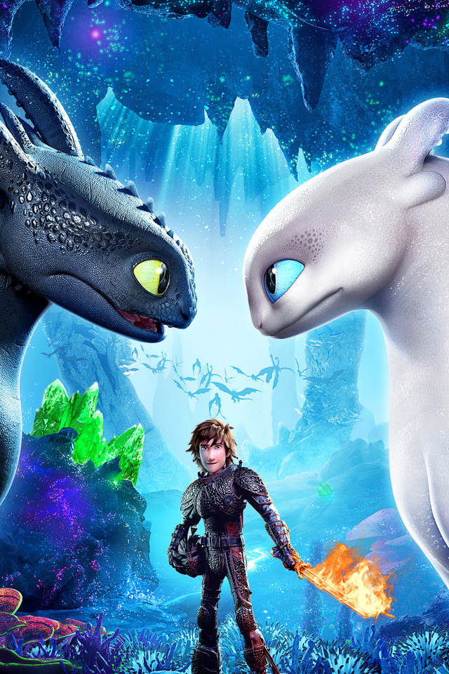 640x960 hiccup how to train your dragon 3 2019 4k iphone 4 - How to train your dragon hd download ...