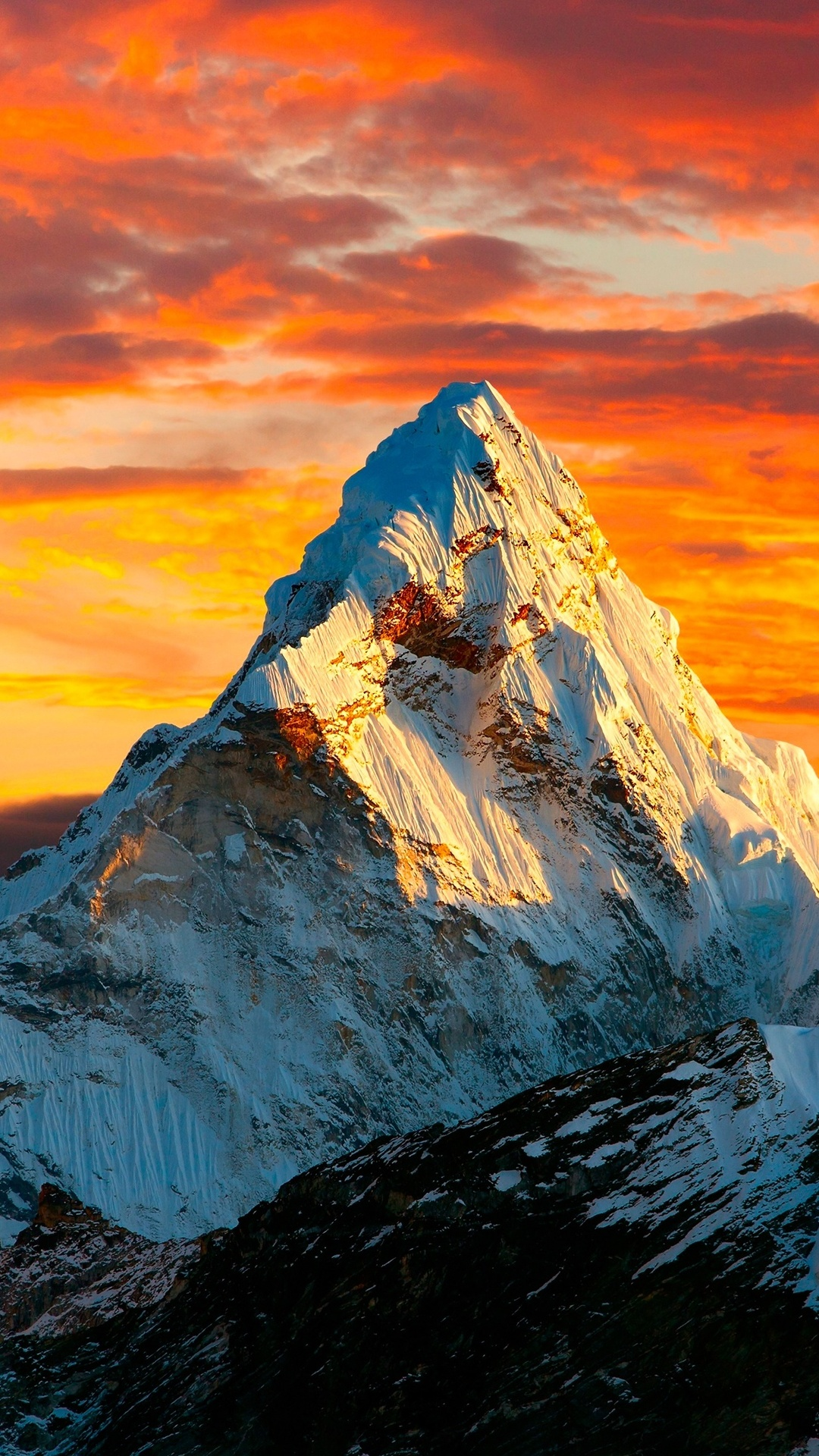 1080x1920 Himalayas Mountains Landscape 4k Iphone 7,6s,6 ...