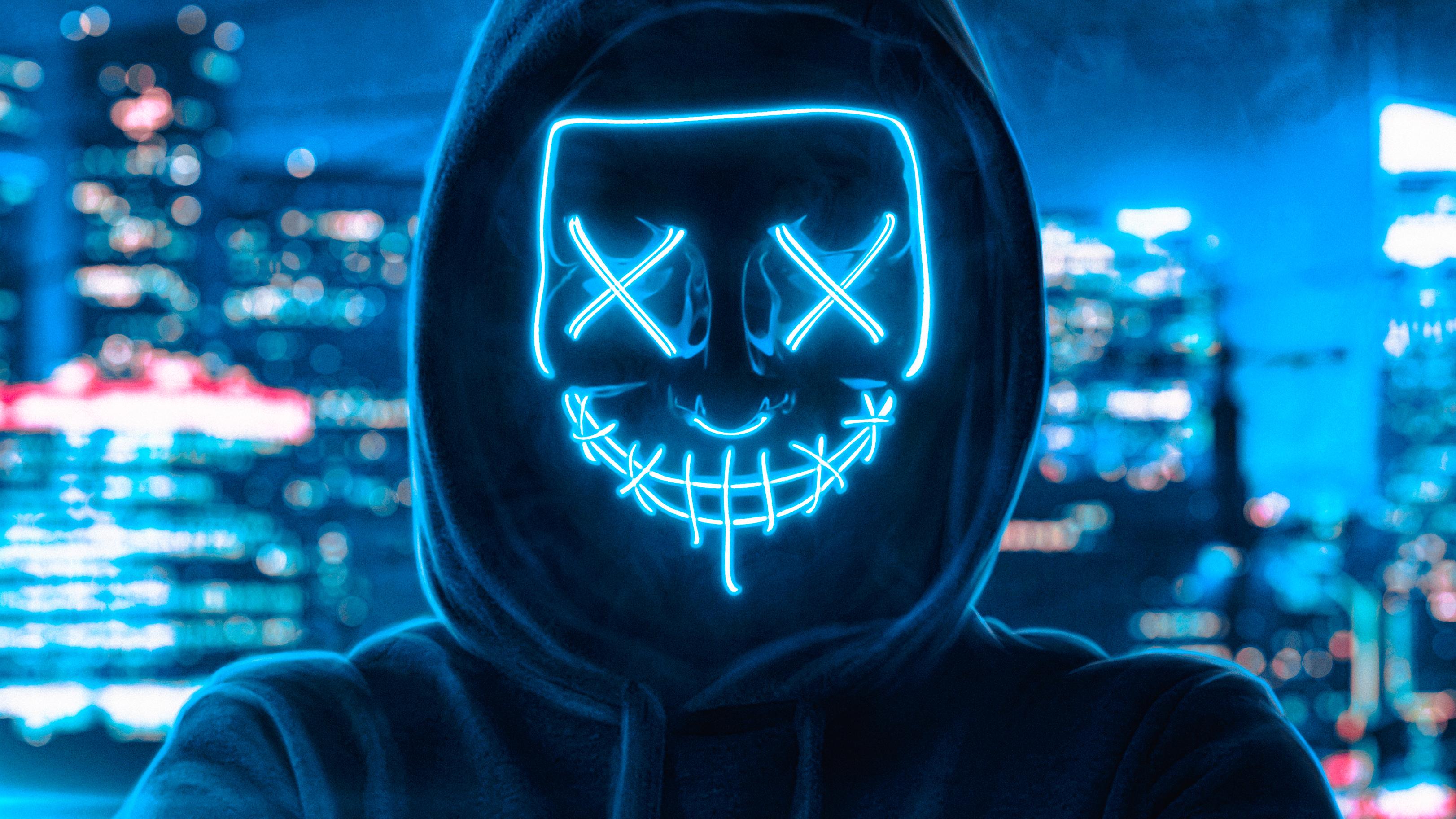 2560x1080 Hoodie Guy Mask Man 2560x1080 Resolution HD 4k ...