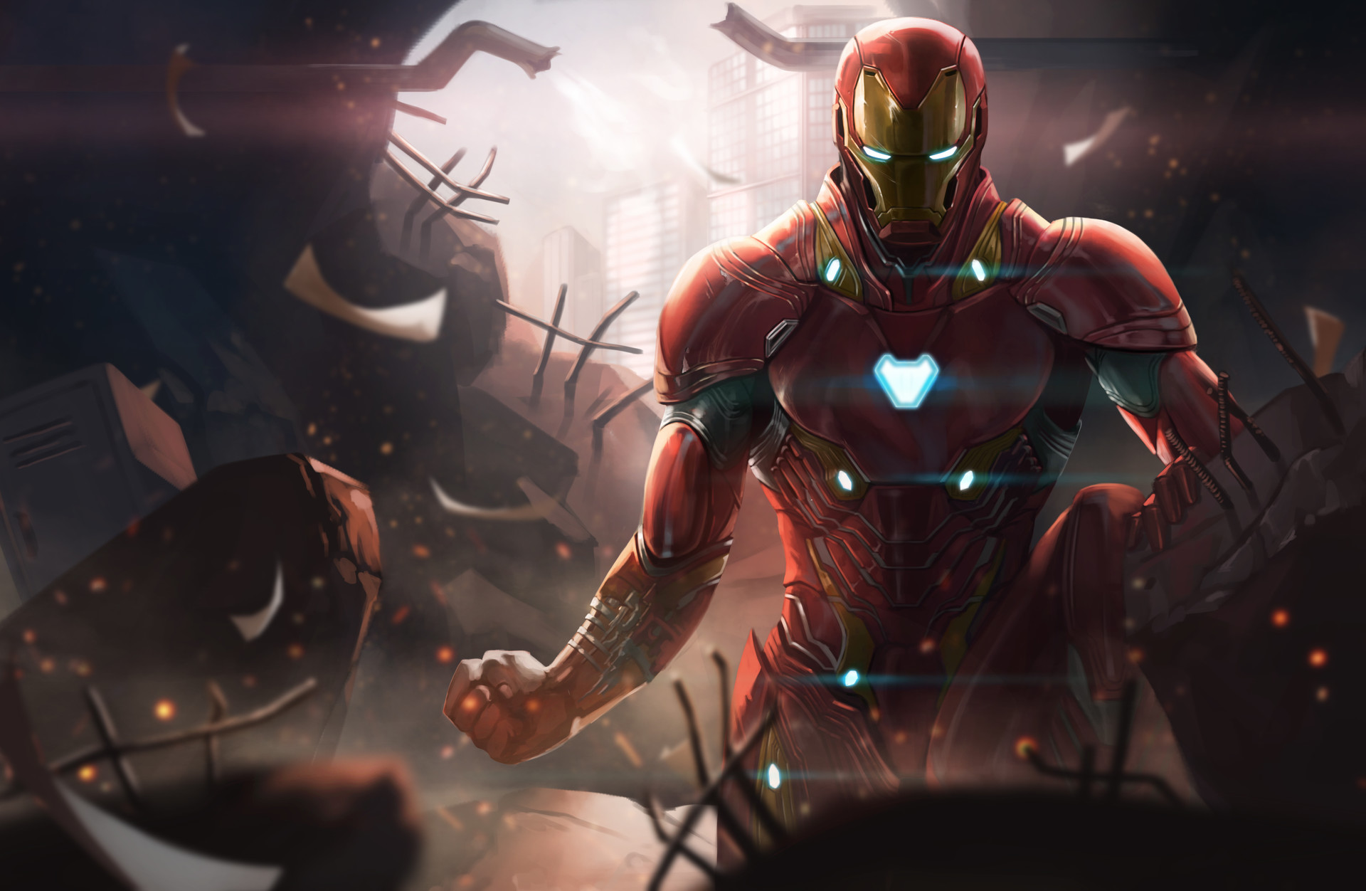 35 Iron Man Hd Wallpapers For Desktop: 1920x1080 Iron Man Avengers Infinity War Digital Art