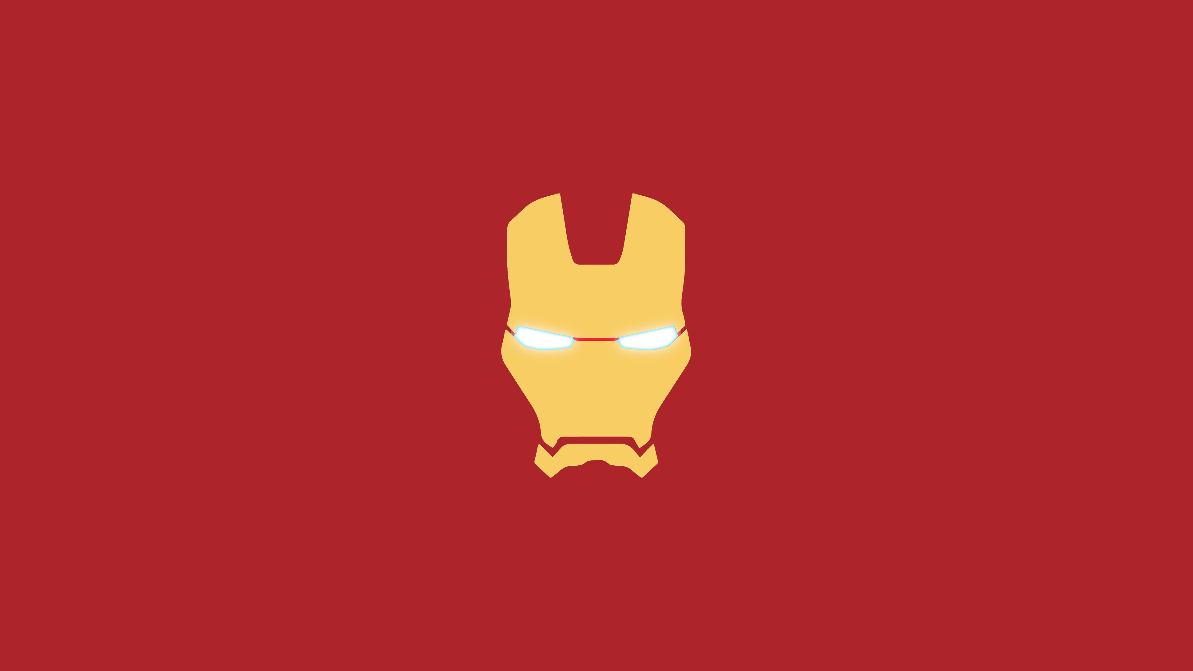 Iron Man Mask Minimal, HD Logo, 4k Wallpapers, Images ...