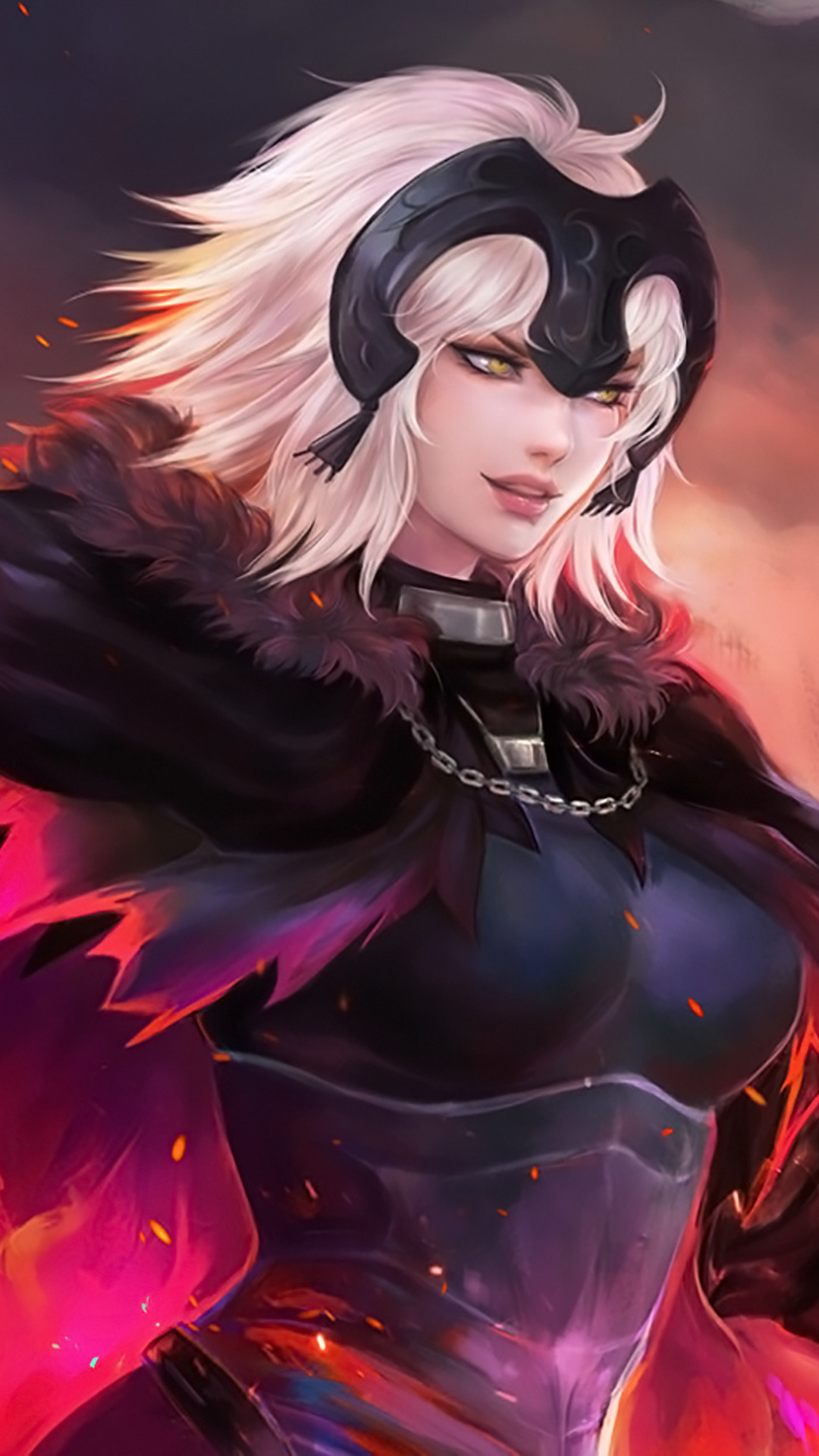 1080x1920 jeanne alter anime fate grand order iphone 7 6s - Anime wallpaper hd iphone 7 ...
