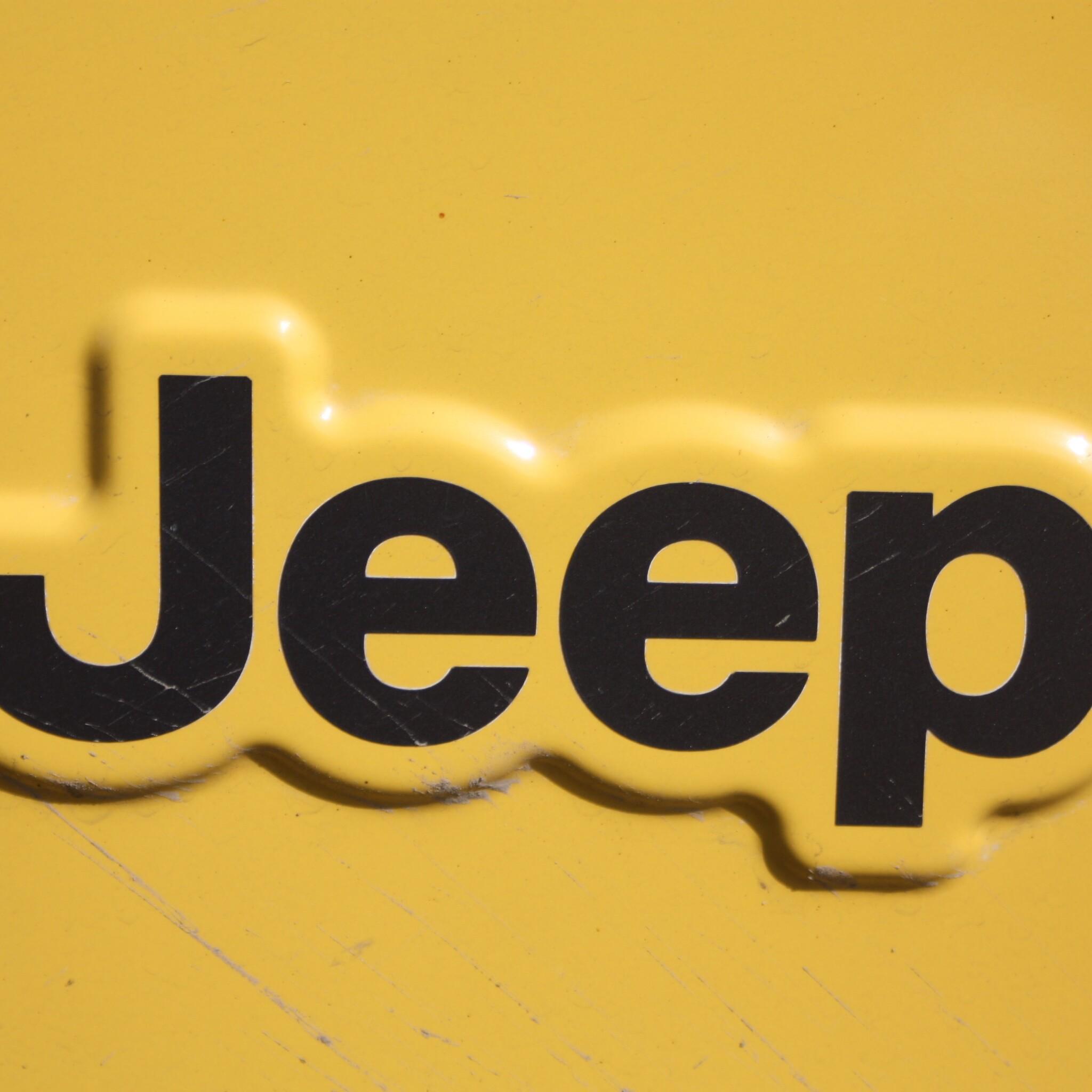 2048x2048 Jeep Logo Ipad Air HD 4k Wallpapers, Images