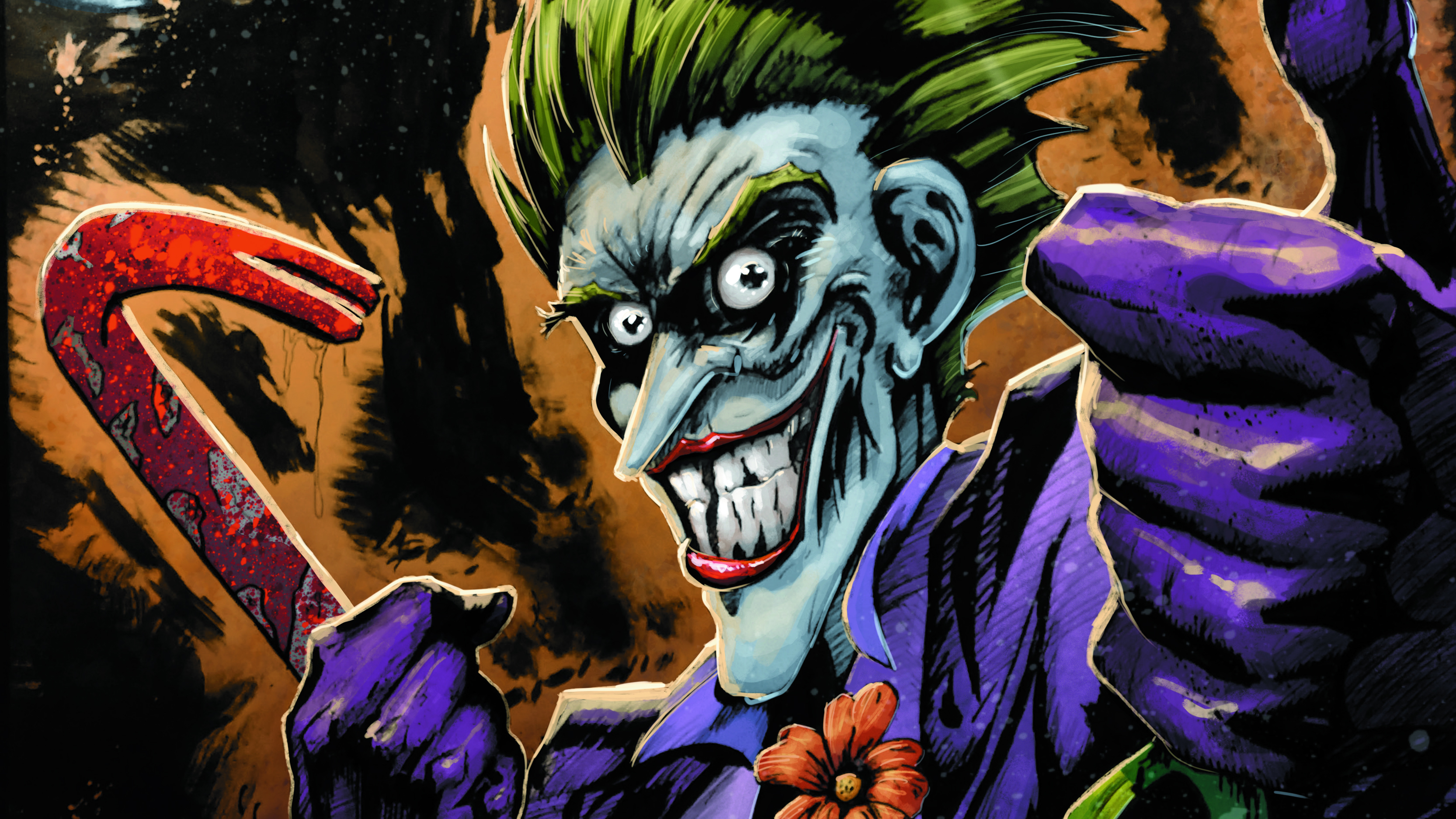 2560x1080 Joker Color Art 4k 2560x1080 Resolution HD 4k ...