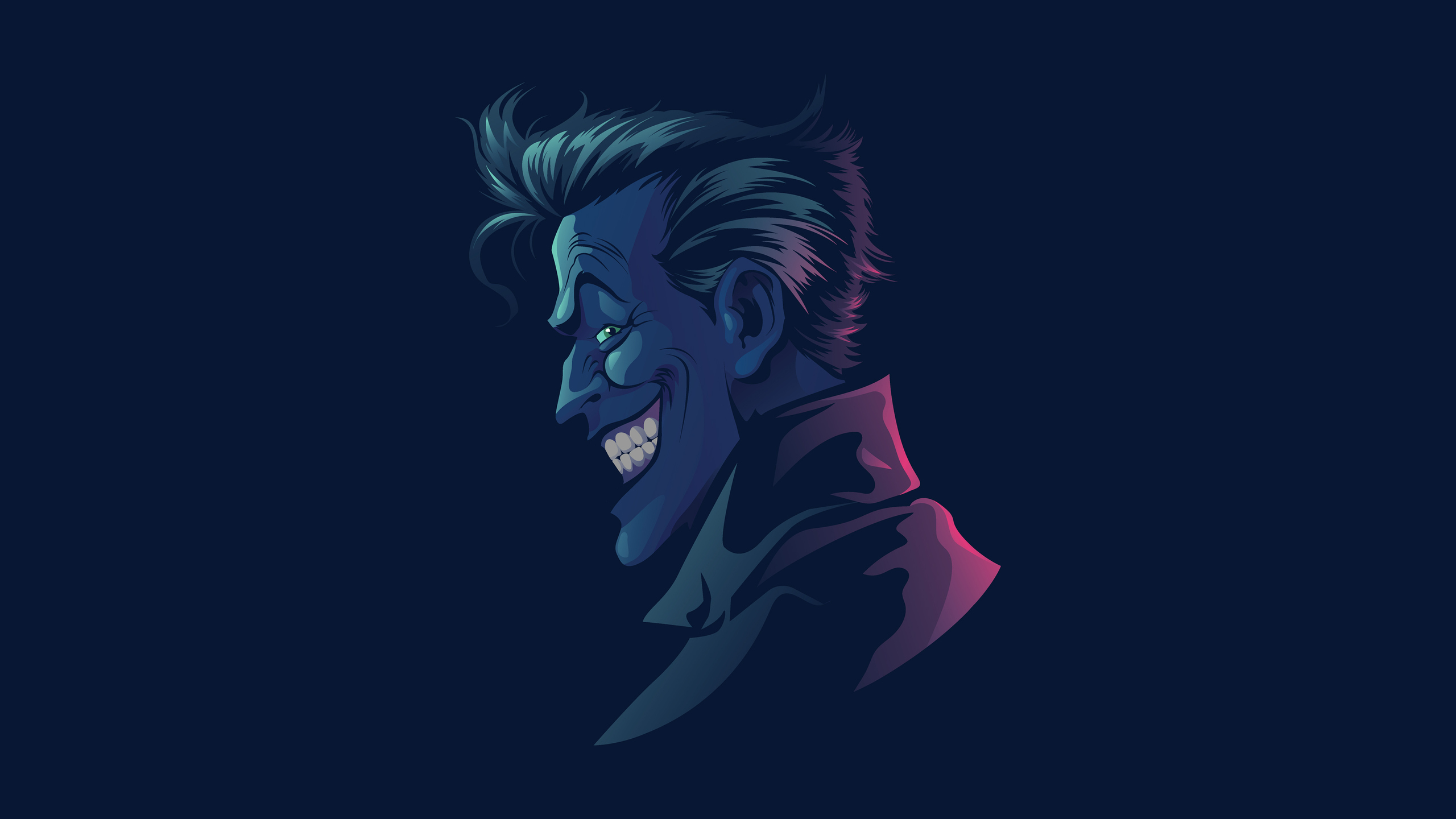 2560x1440 Joker Minimal 1440P Resolution HD 4k Wallpapers ...