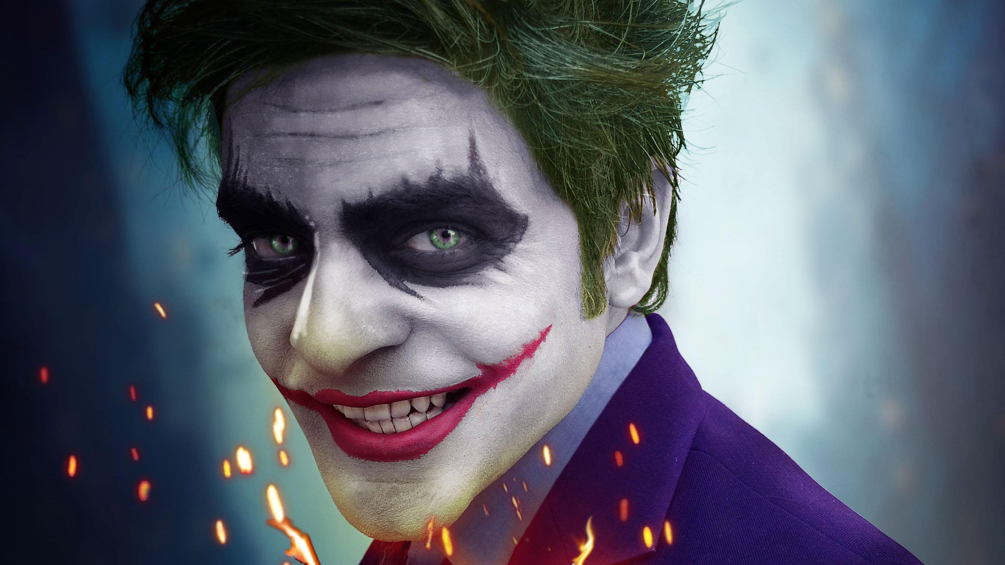 Joker smiling 4k hd superheroes 4k wallpapers images for Joker wallpaper 4k