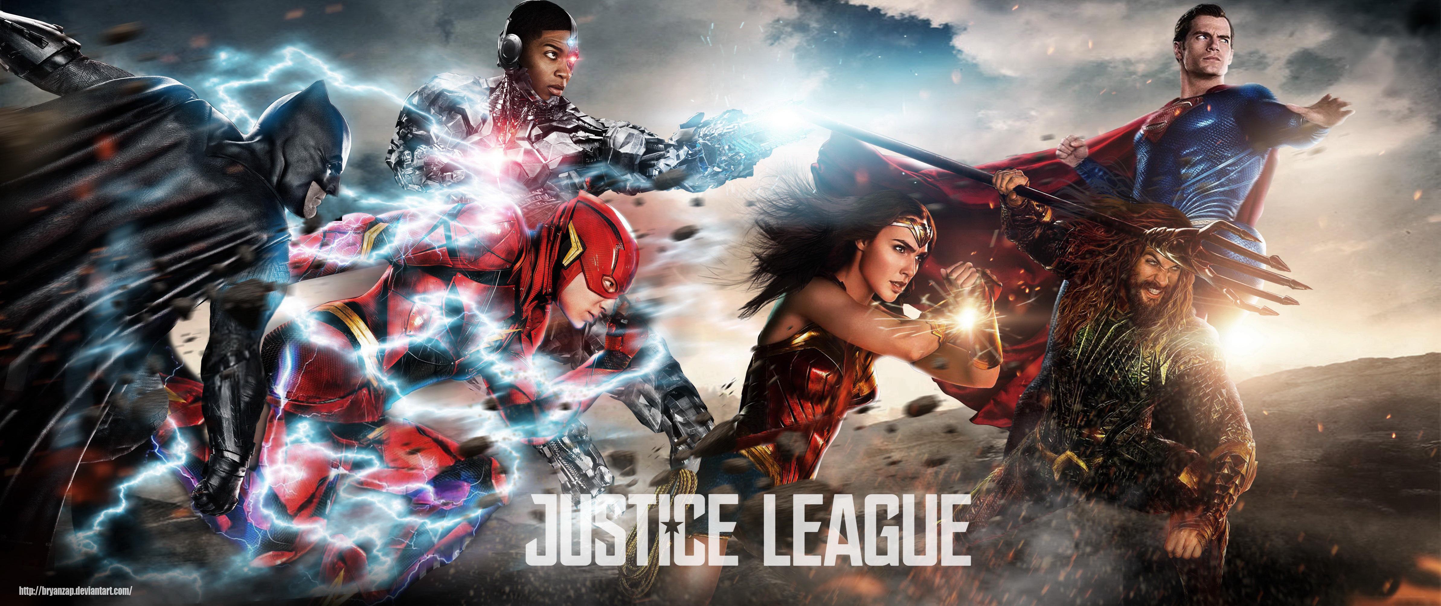Wonder Woman Justice League 4k Fan Art Hd Movies 4k: Justice League 2017 Fan Art, HD Movies, 4k Wallpapers